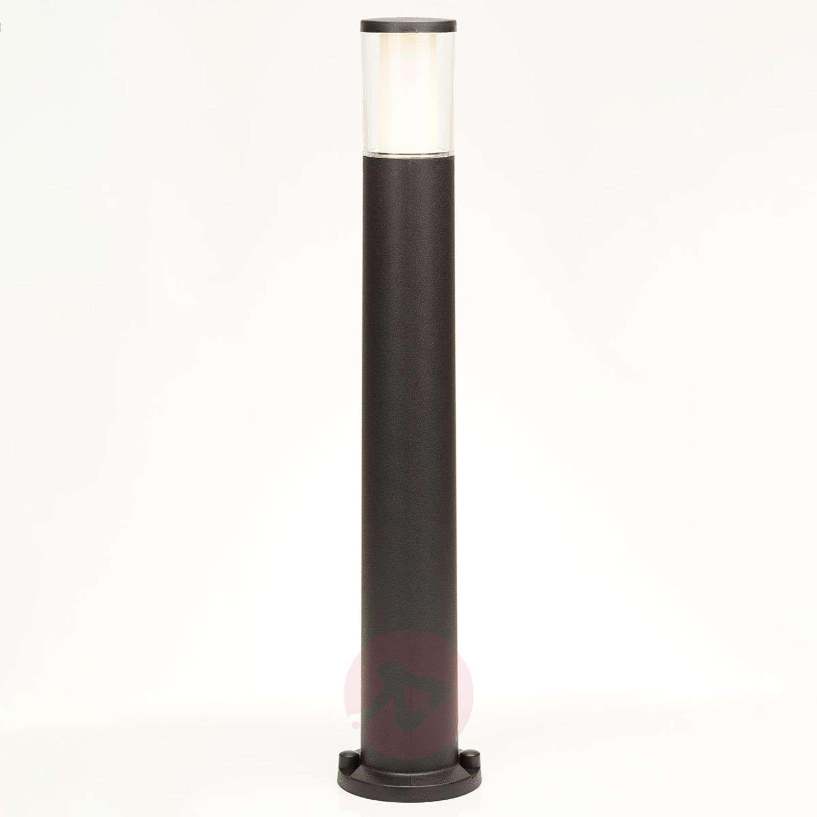 Musta LED-pylväsvalaisin Carlo-3538074-01