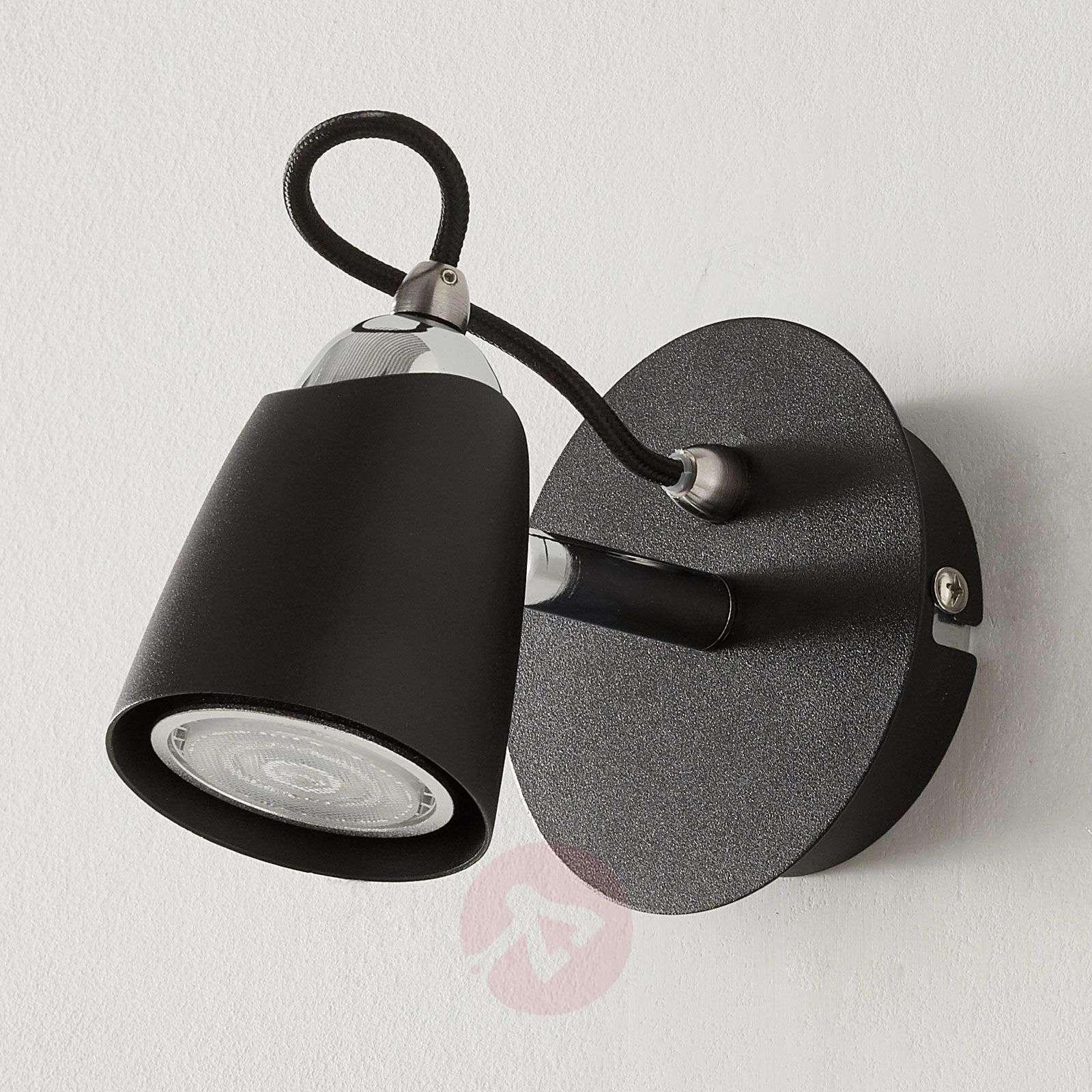 Musta LED-spotti Marko, säädettävä-9975028-02