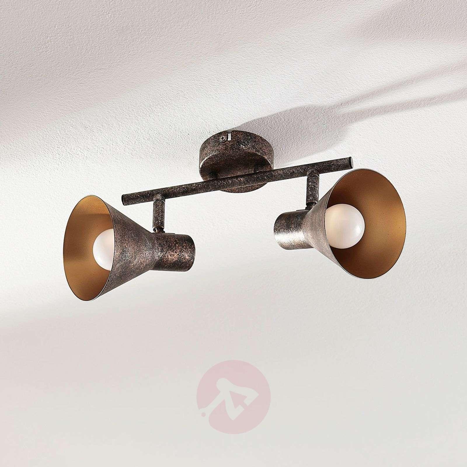 Mustakultainen LED-kattovalaisin Zera, easydim-9621540-02
