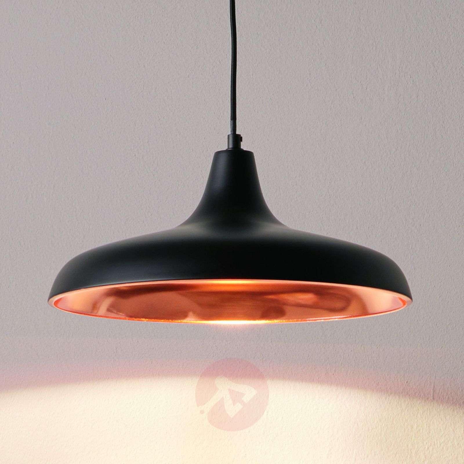 Mustan ja kuparin värinen riippuvalaisin Surrey-7531697-01