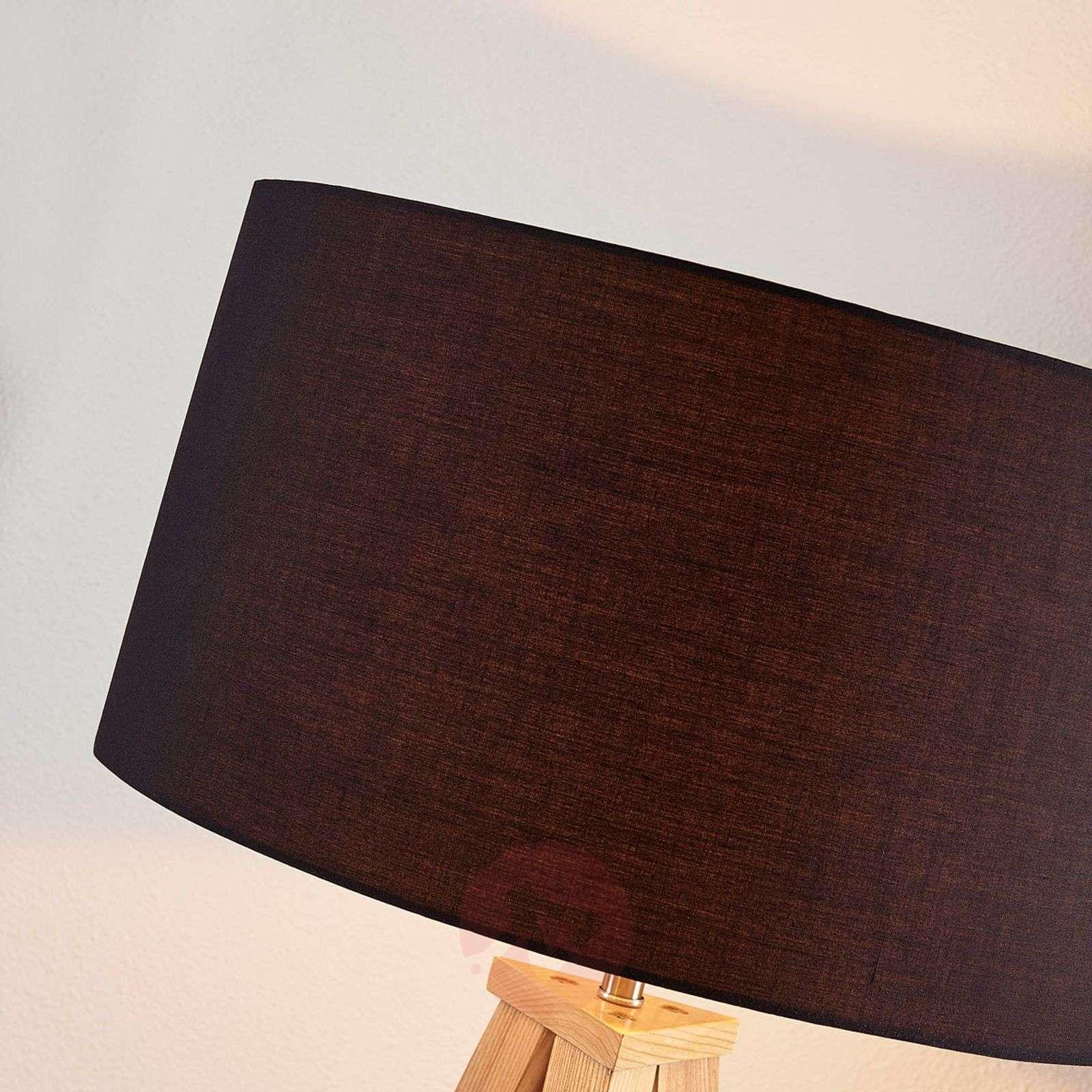 Mya Puu-lattiavalaisin, musta kangasvarjostin-9621330-01