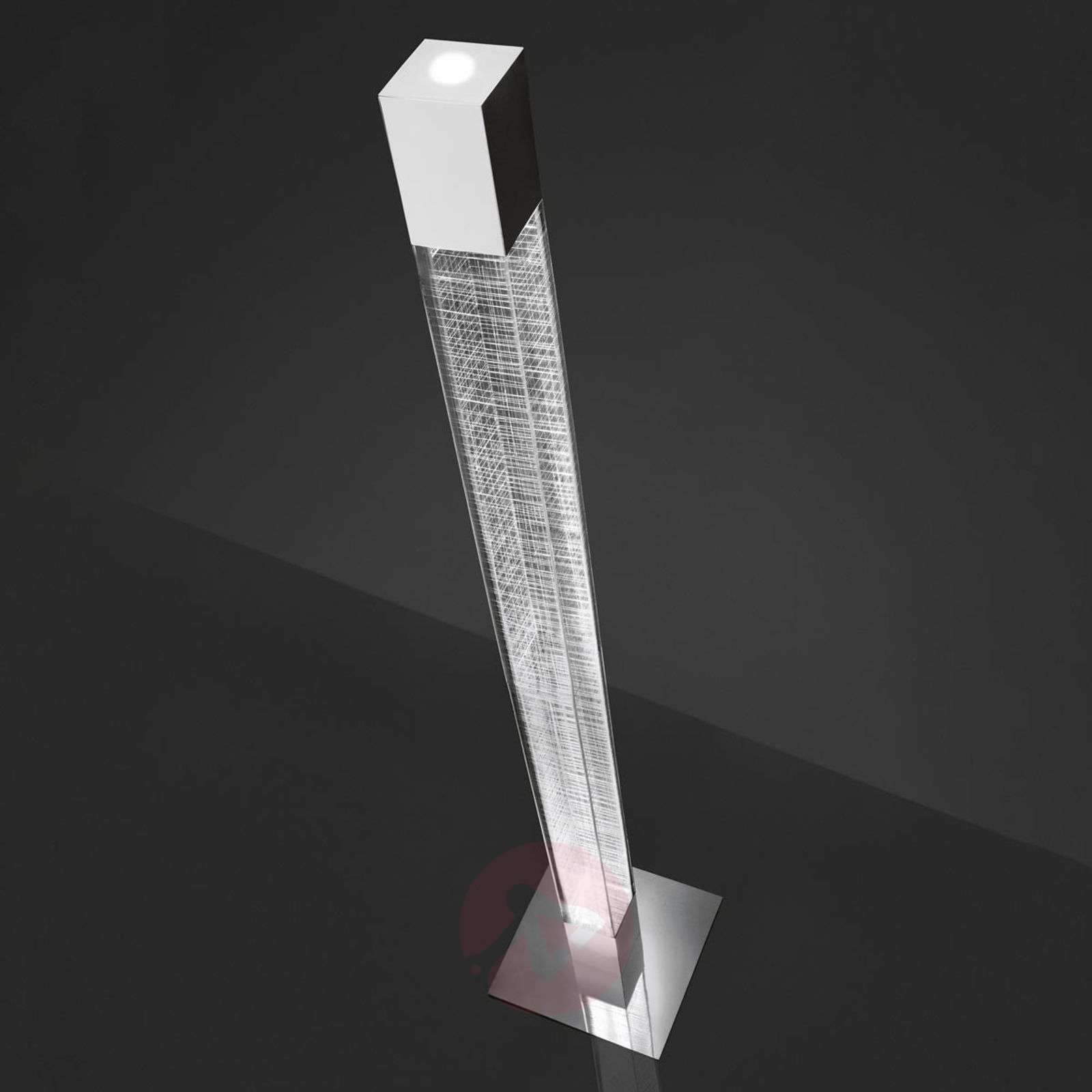 Näyttävä LED-lattiavalaisin Mimesi-1060030-01