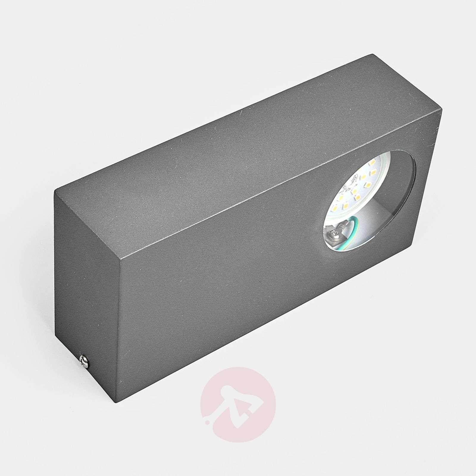 Näyttävä LED-ulkoseinävalaisin Loredana-9977001-01