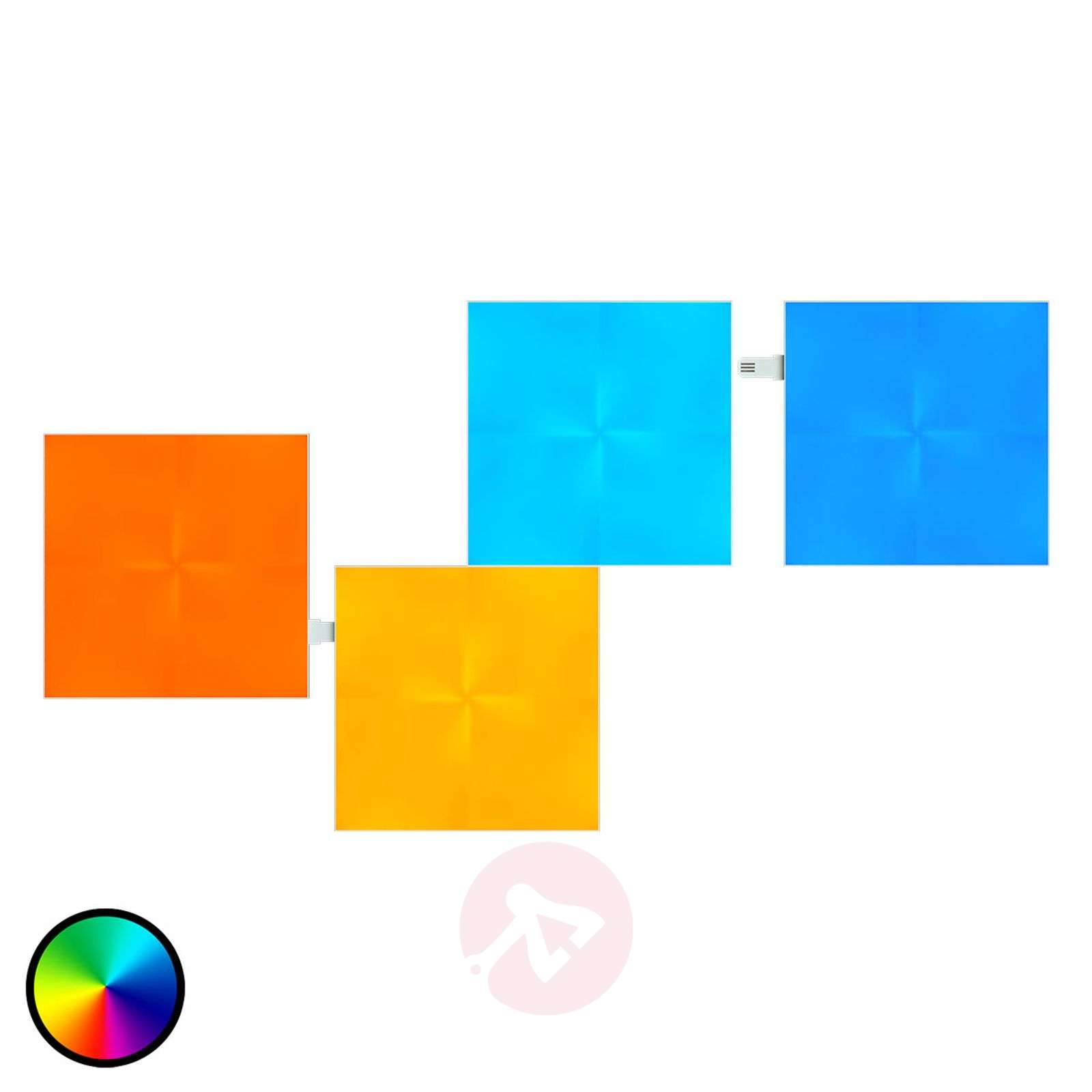 Nanoleaf Canvas laajennus, jossa 4 paneelia-6730012-01