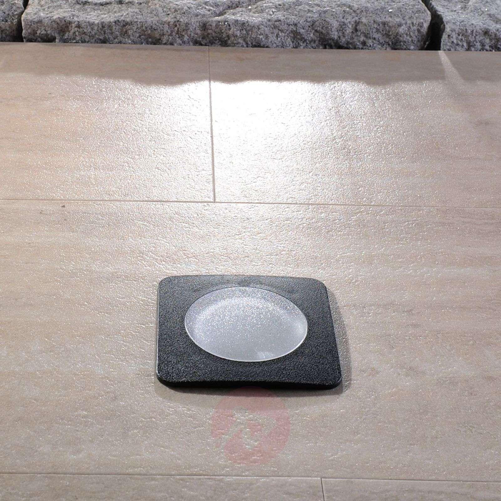 Nelikulmainen lattiauppovalaisin Ceci 120-SQ musta-3538039-01