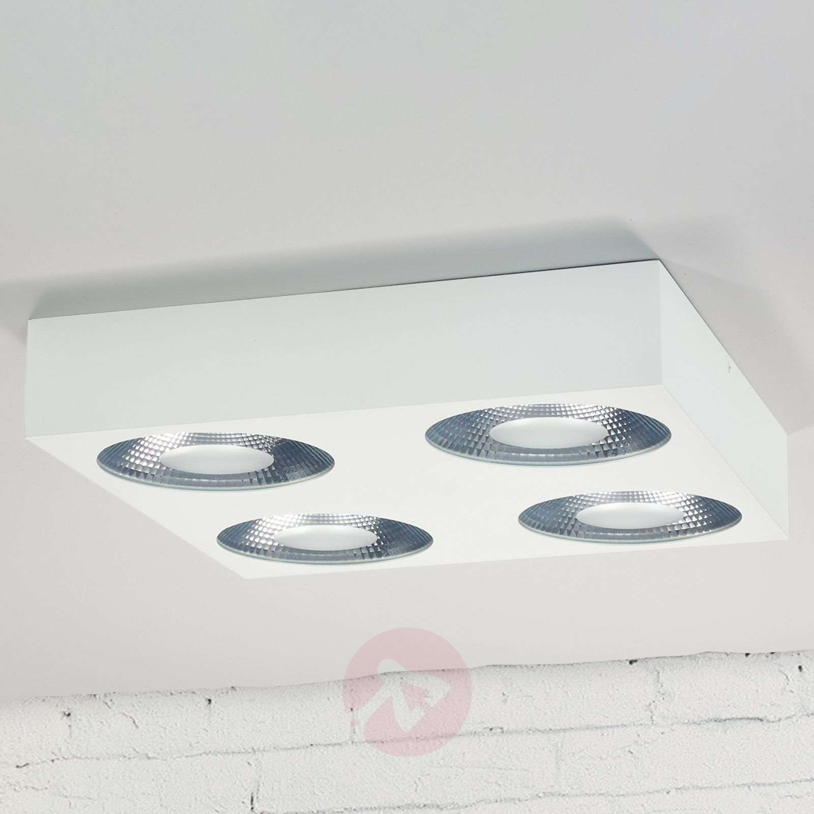 Nelikulmainen LED-Easydim-kattovalaisin Sonja-1558150-02