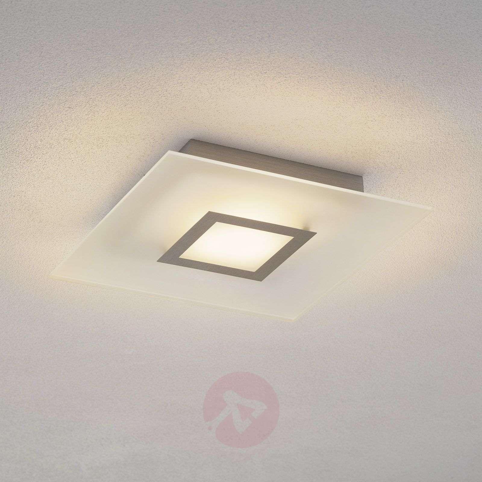 Nelikulmainen LED-kattovalaisin Flat himmennettävä-1556100-01