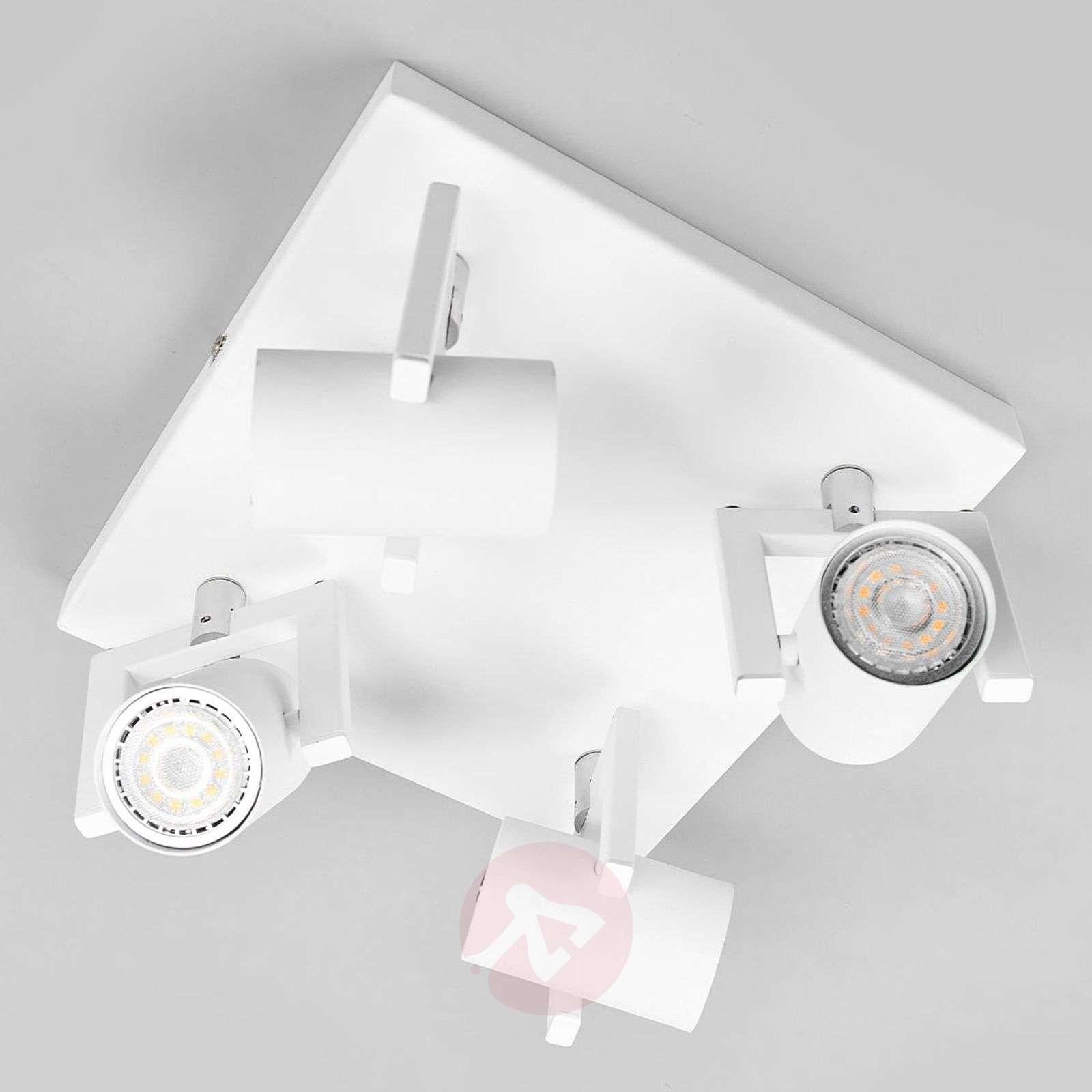 Nelikulmainen LED-kattovalaisin Sulamita, 4-lamp.-9975042-011