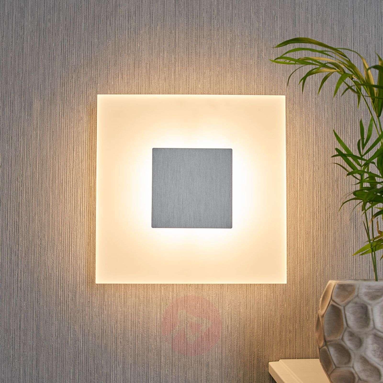 Nelikulmainen LED-seinävalaisin Berlind-9976054-02