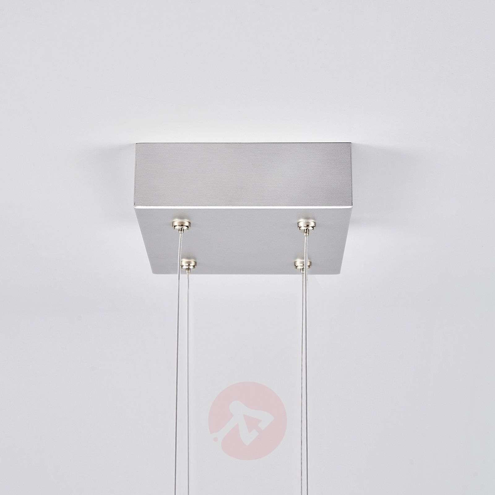 Nelikulmainen LED-valaisin Lola lasisuojalla-6722118-01