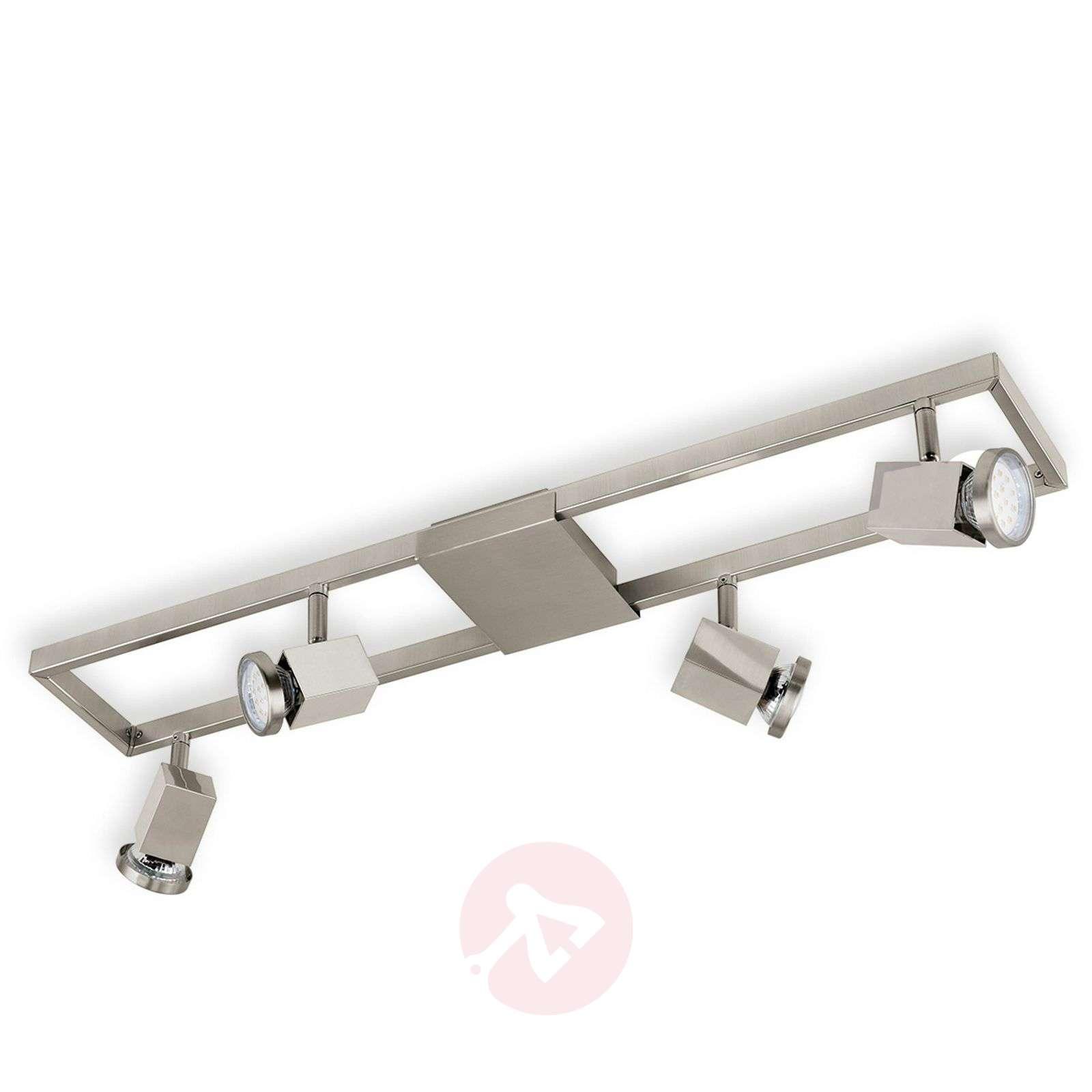 Nelilamppuinen led-kattokohdevalaisin Zeraco-3031766-01