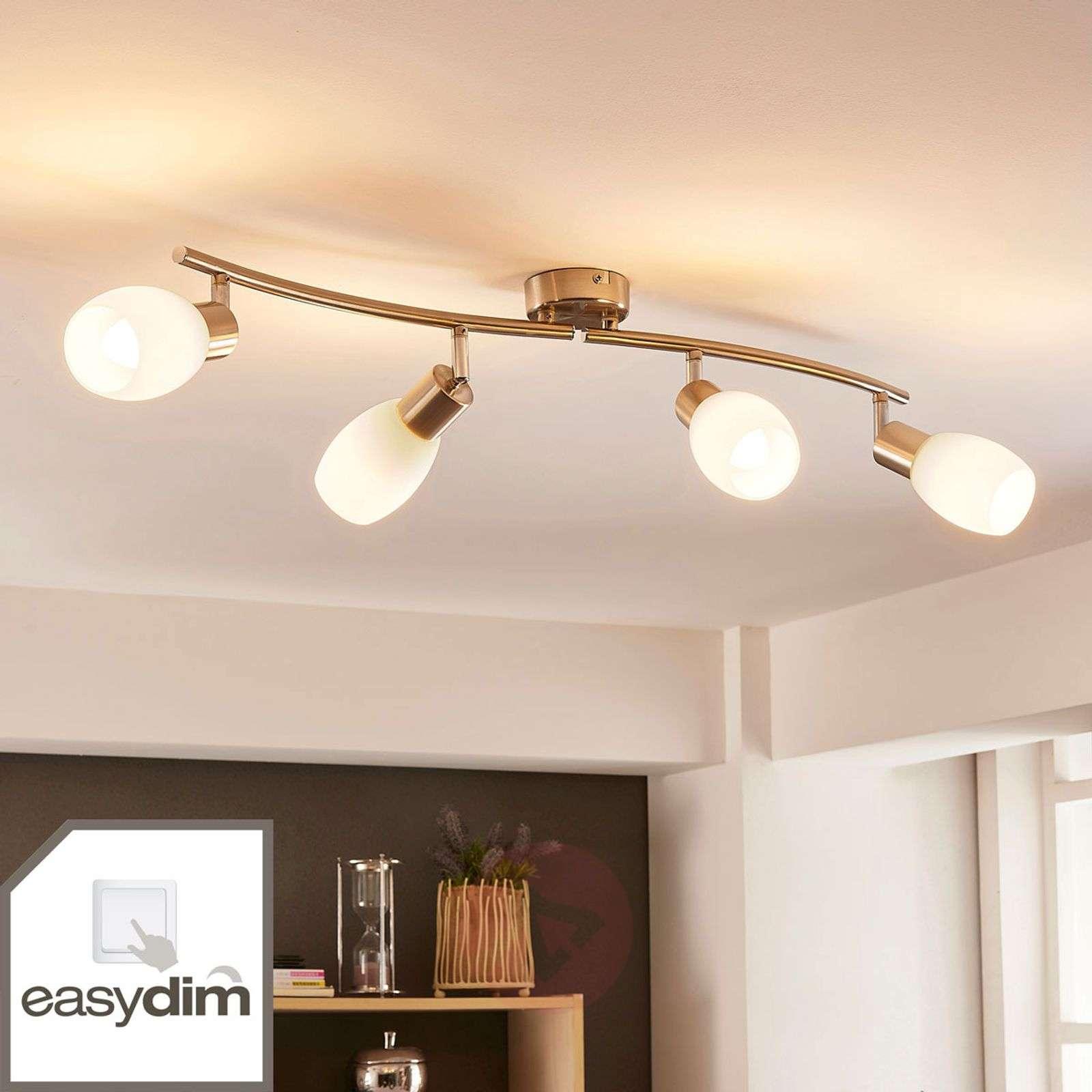 Nelilamppuinen LED-kattovalaisin Arda, easydim-9621267-02