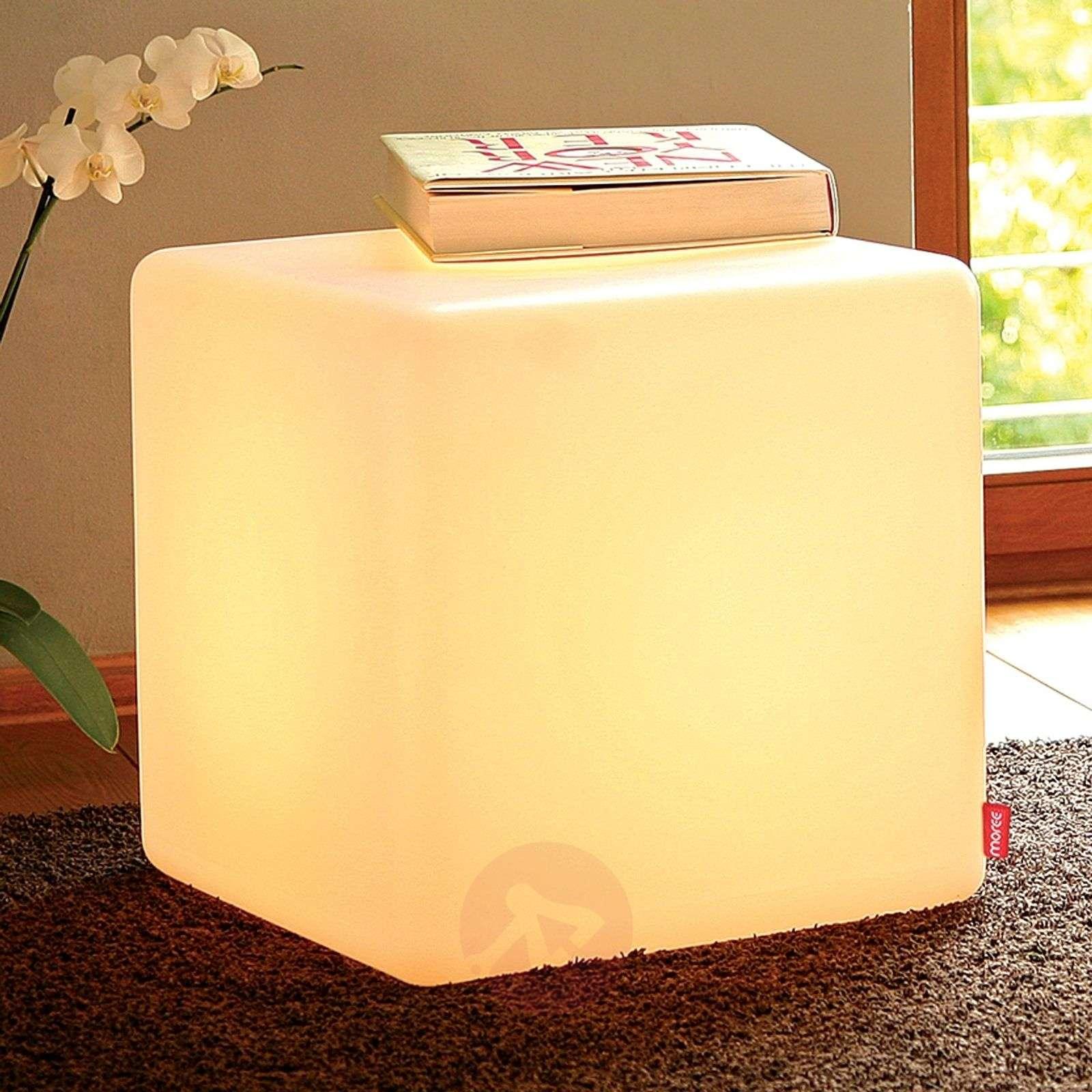 Neliömäinen koristevalaisin Cube Indoor-6537020-01