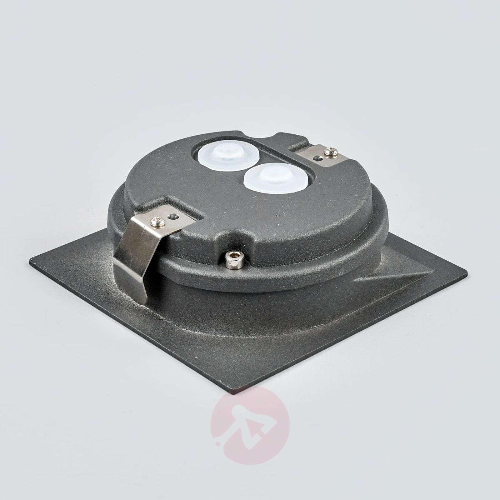 Neliömäinen Loya upotettava LED-ulkoseinävalaisin-9969038-02