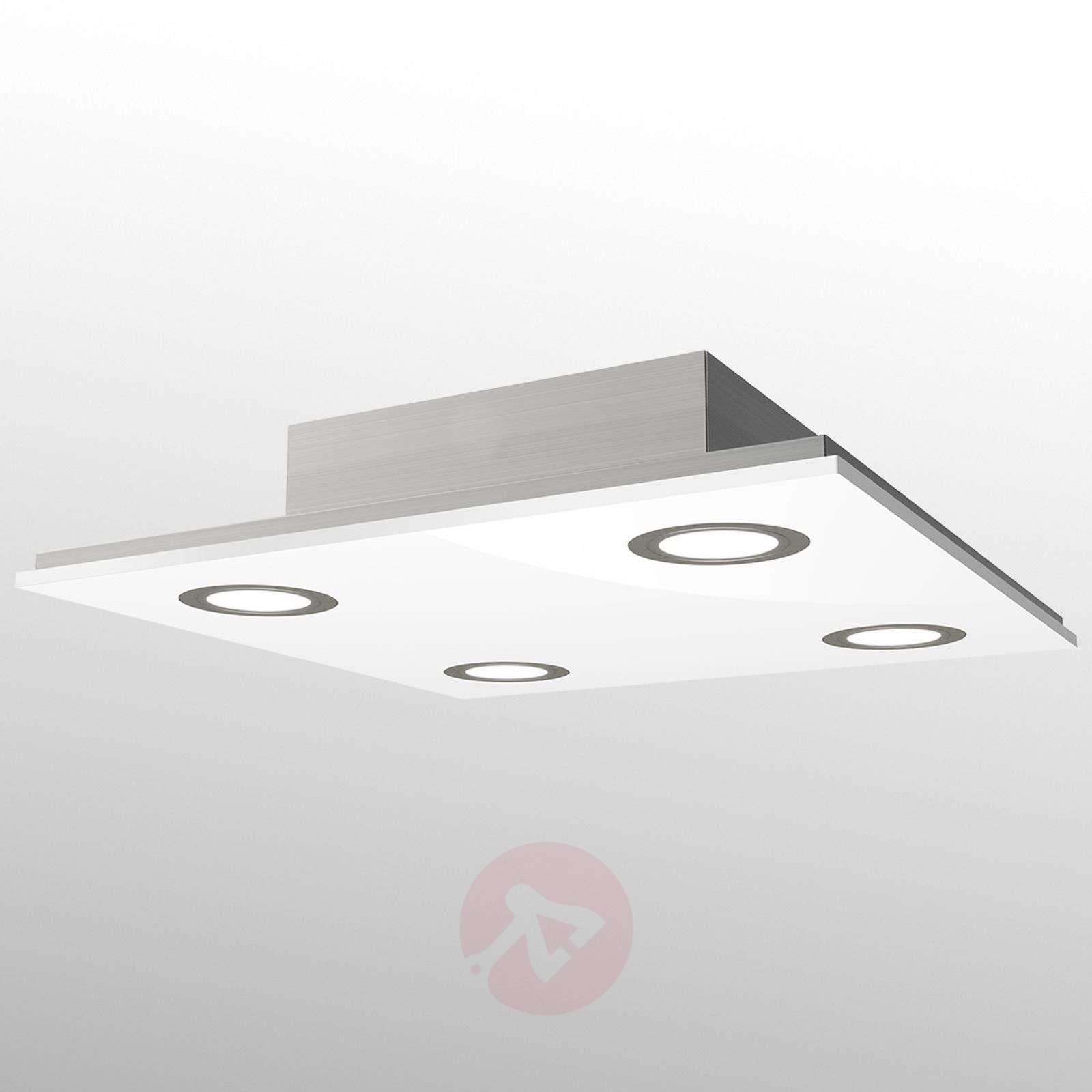 Neliömäinen Pano-LED-kattovalaisin, valkoinen-3025294-01