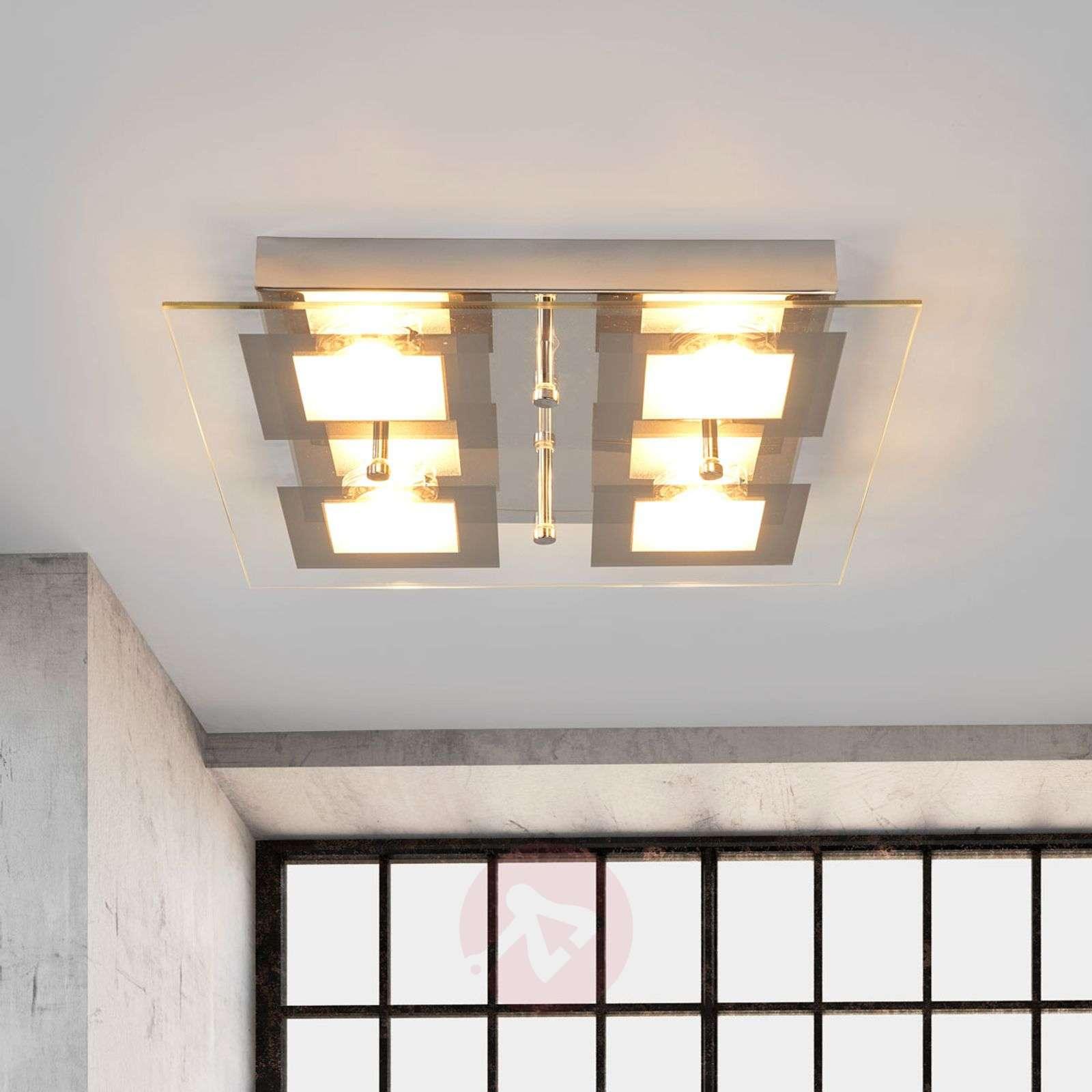 Neliskulmainen Manja LED-keittiövalaisin-4018054-02