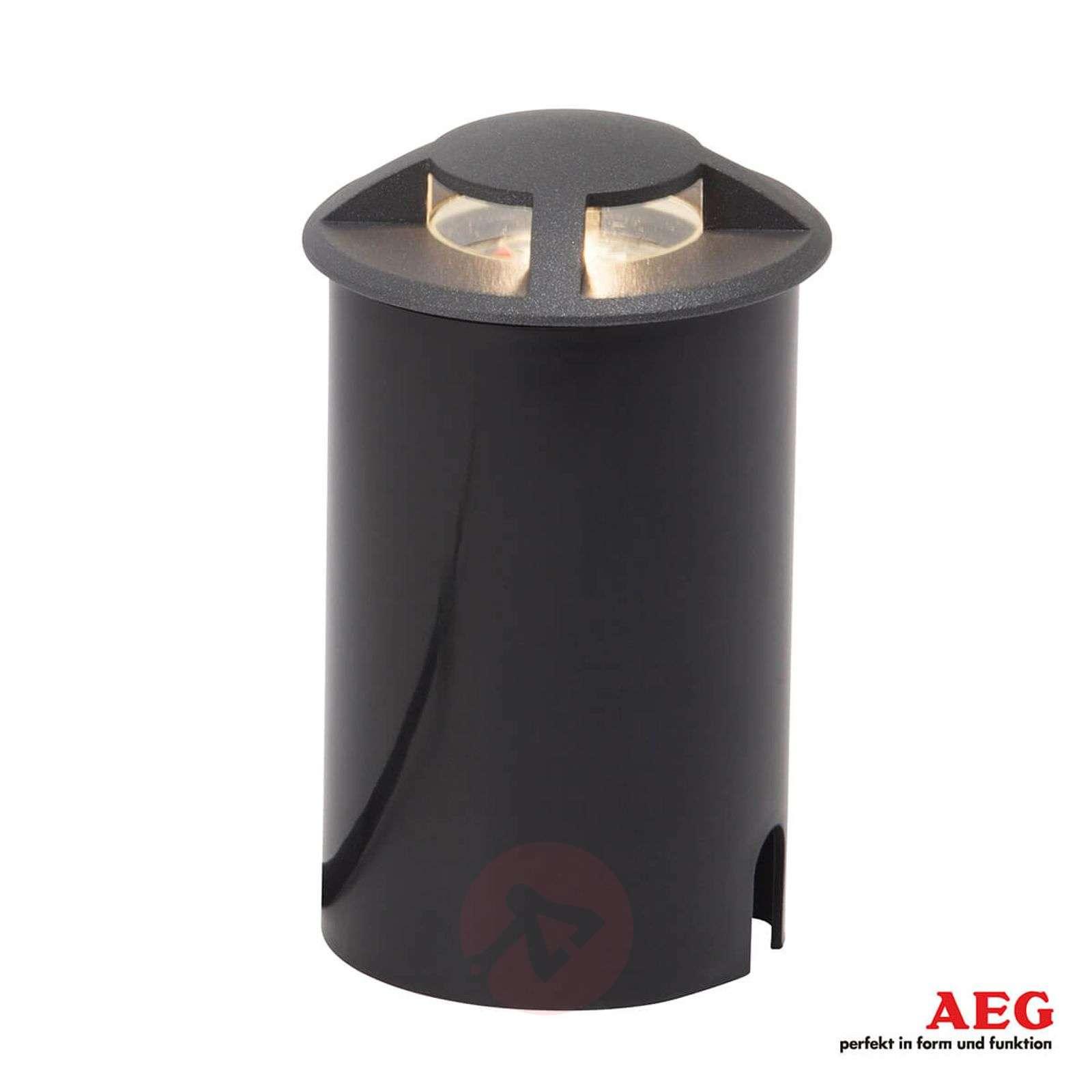 Neljälle sivulle valaiseva LED-maaspotti Tritax-3057110-01