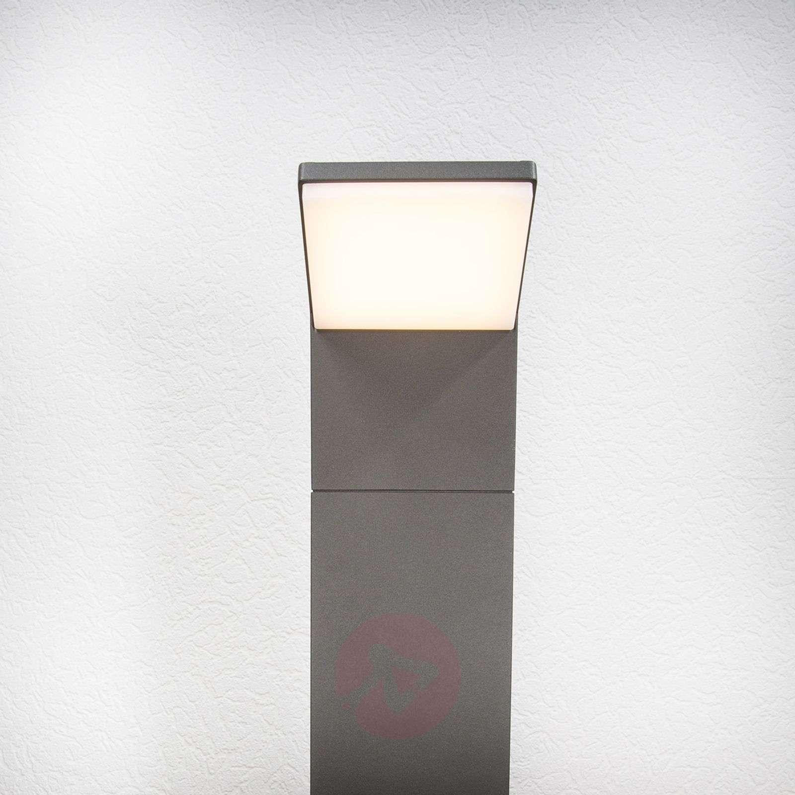 Nevio-LED-pylväsvalaisin 60 cm-9619041-01