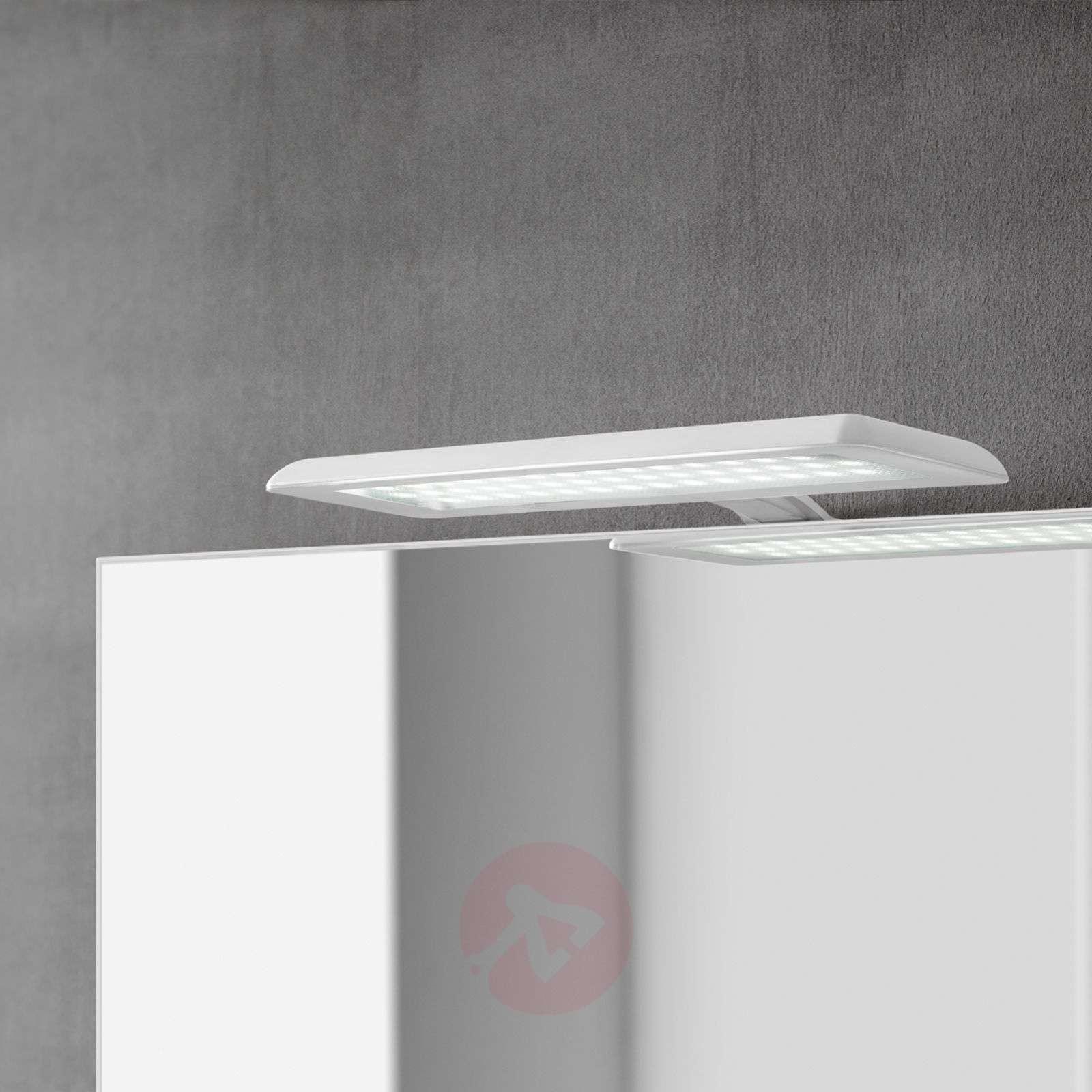 Nikita-LED-peilivalaisin, valk., teräksenharmaa-3052040-02