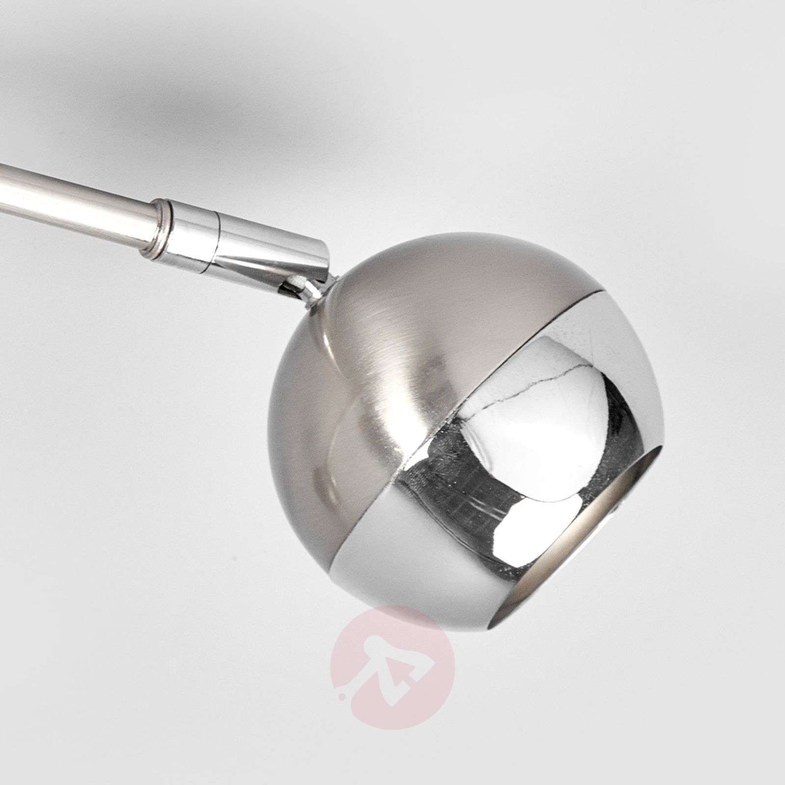 Nikkelin värinen LED-kattovalaisin Arvin, 3-lampp.-9970119-01
