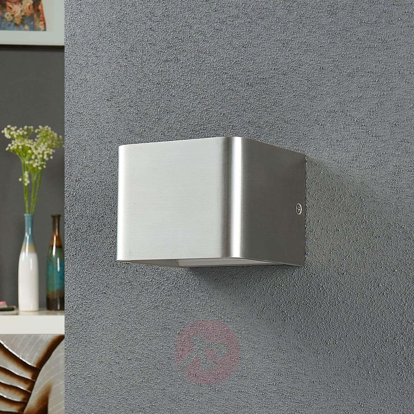 Nikkelinvärinen Lonisa LED-seinävalaisin-9621191-02