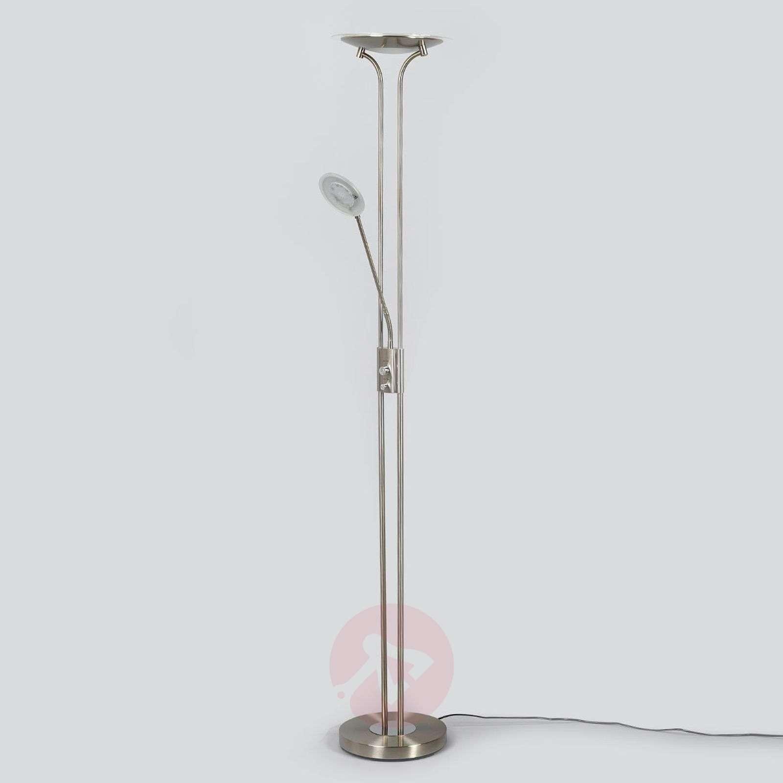 Nikkelisävy ylöspäin suunnattu LED-valaisin Aras-9945223-06