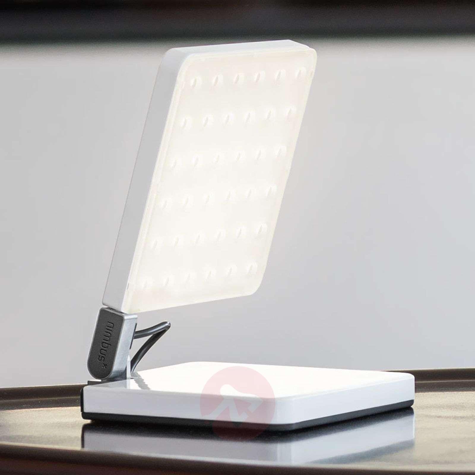 Nimbus Roxxane Fly LED-pöytävalaisin, valkoinen