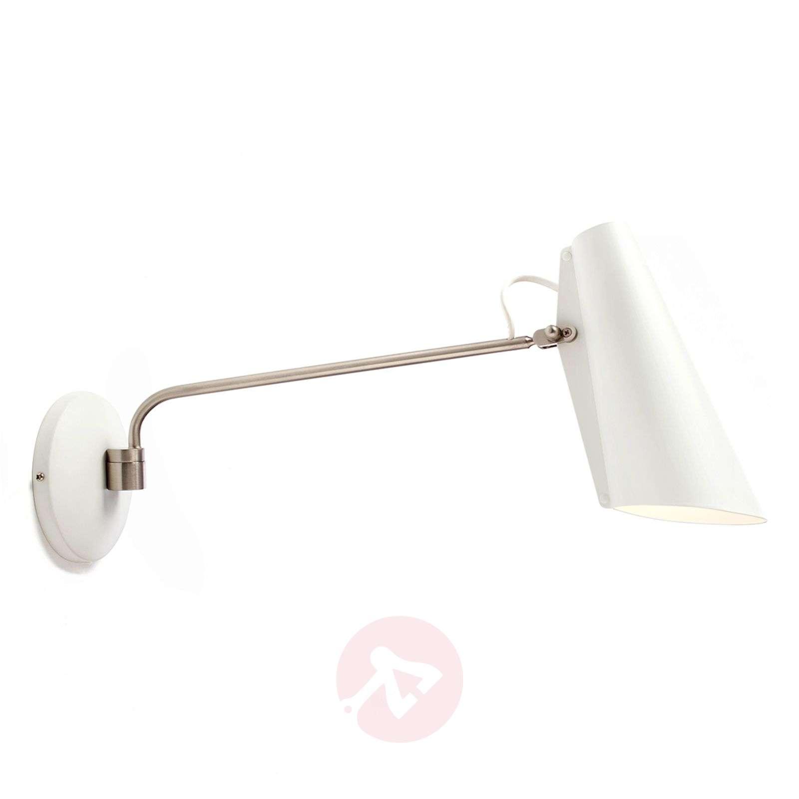 Northern Birdy – valkoinen retro-seinävalaisin-7013046-01