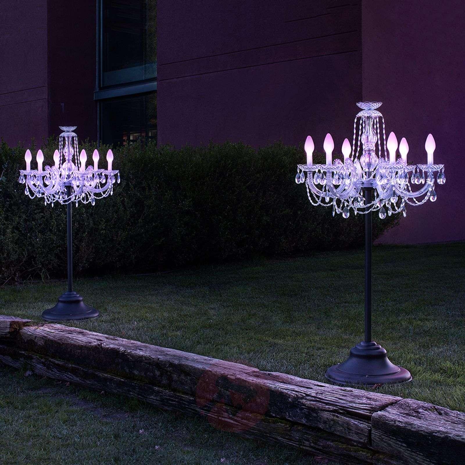 Ohjattava LED-lattiavalaisin Drylight ulos RGBW-6517267-01