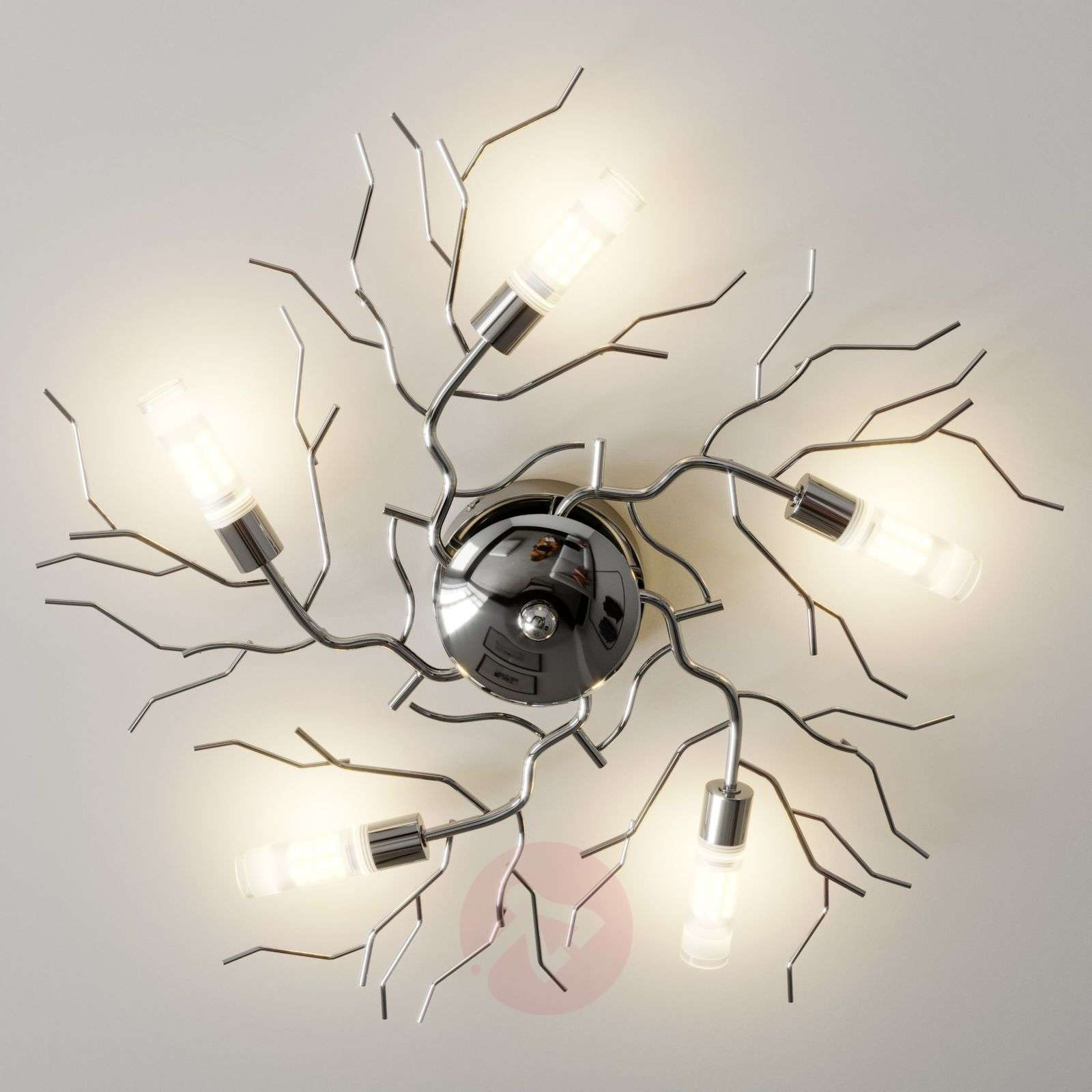 Oksamainen LED-kattovalaisin Felicity-9620804-024