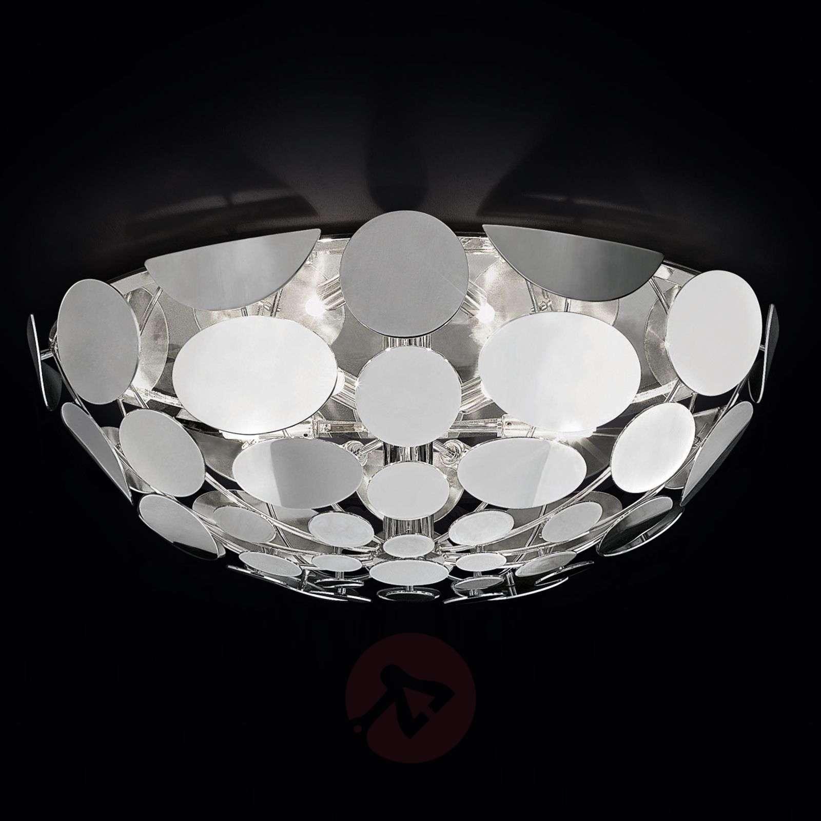 Ovaali kromi-kattovalaisin Sfera-6000032-01
