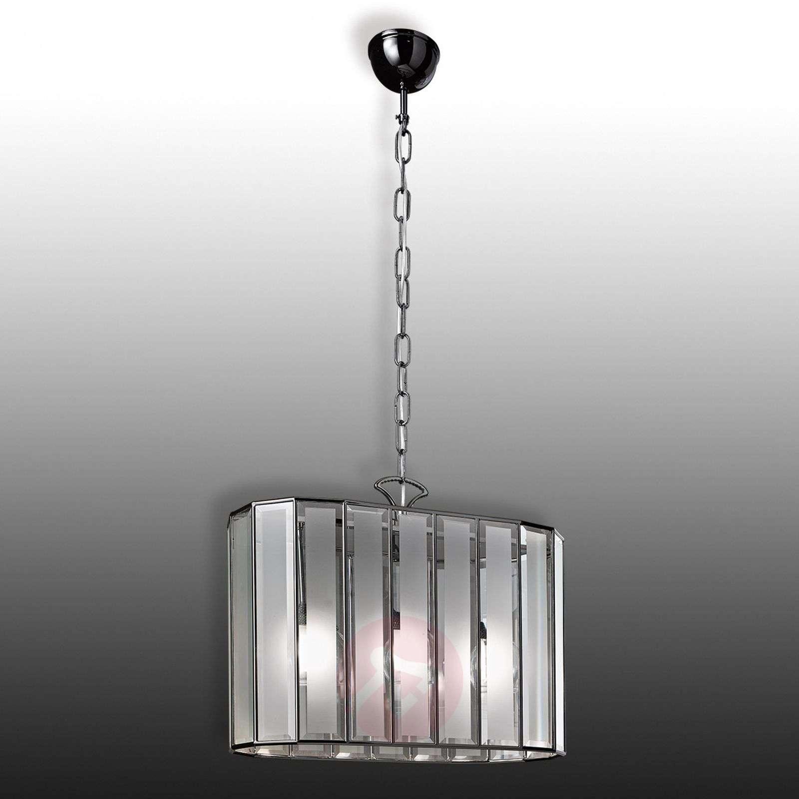 Ovaali riippuvalaisin Buona Visione, 3-lamppuinen