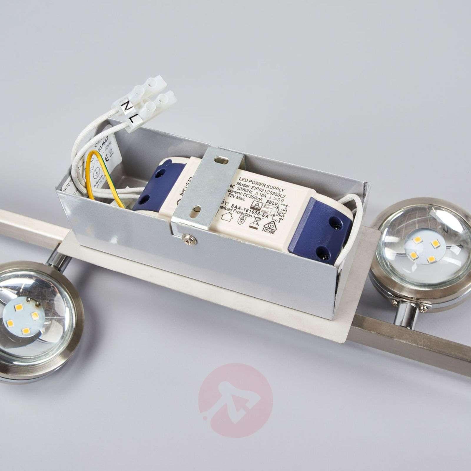 Pablos 4-osainen LED-kattovalaisin, kromi-9994125-01