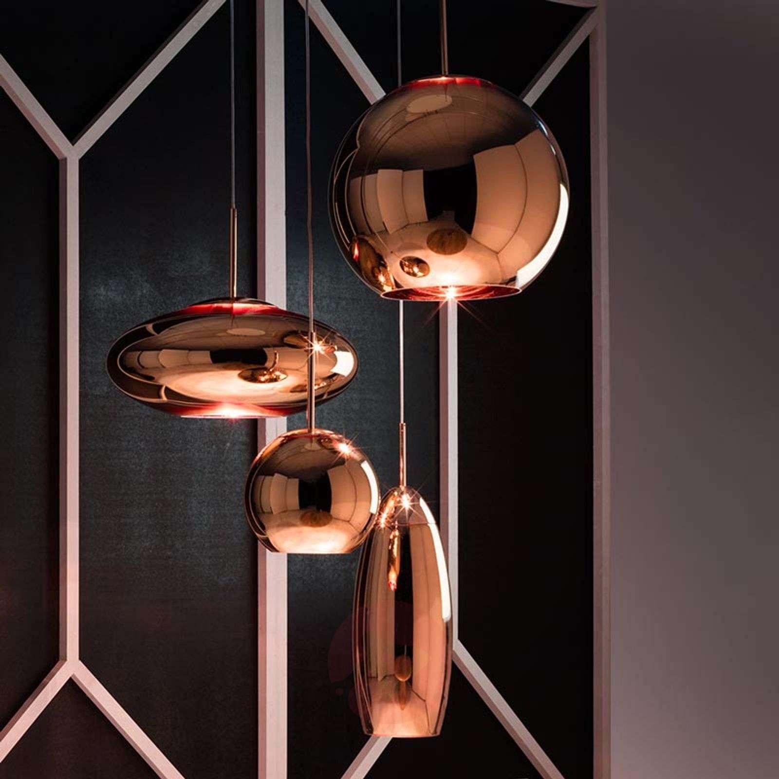 Pallonmuotoinen Copper Round-riippuvalaisin-9043020X-06