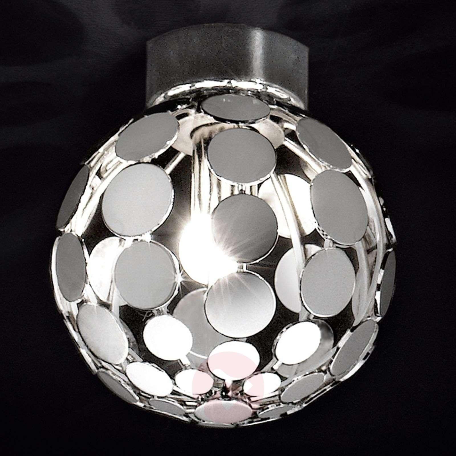 Pallonmuotoinen kromi-kattovalaisin Sfera-6000033-01
