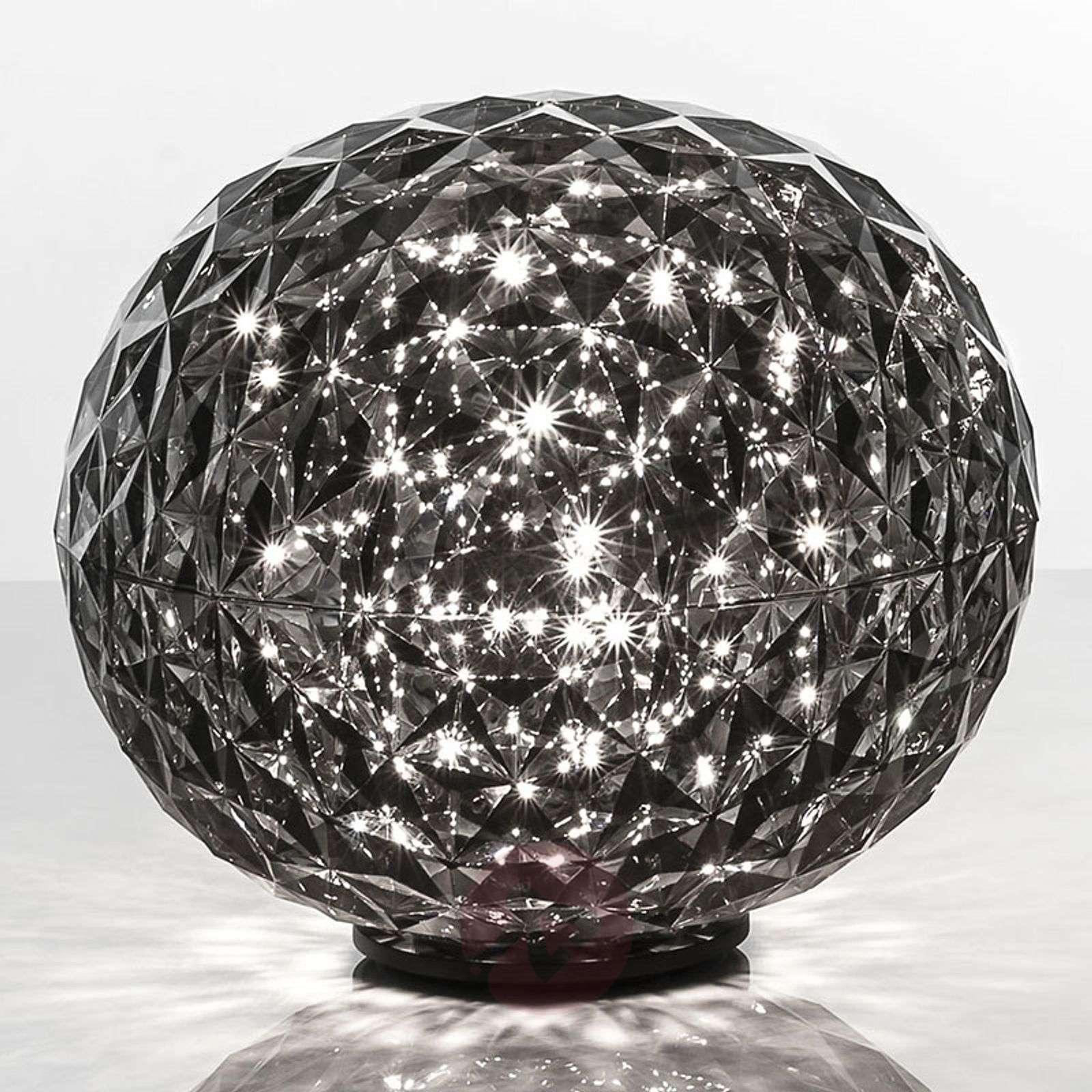 Pallonmuotoinen LED-pöytävalaisin Planet-5541023X-01