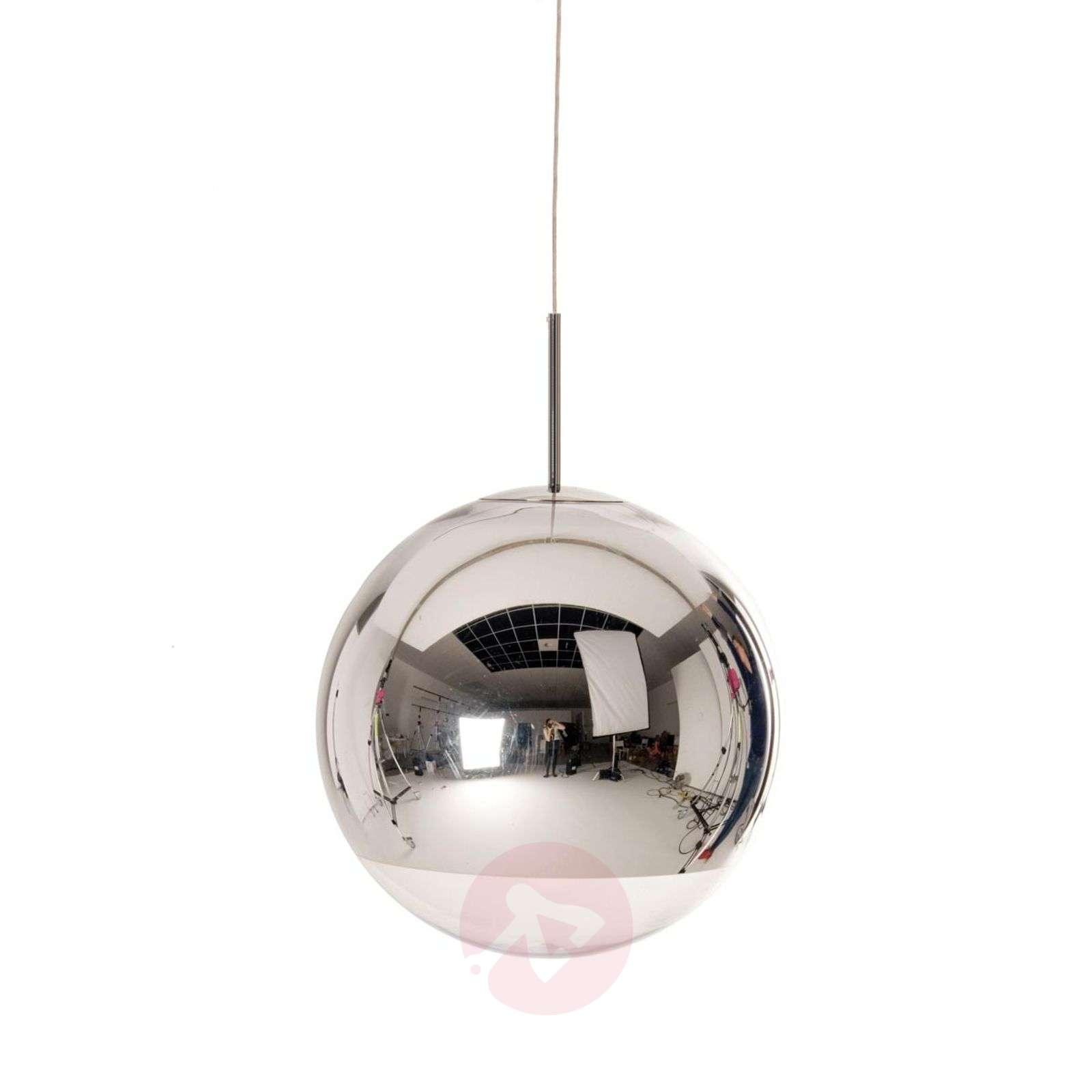 Pallonmuotoinen Mirror Ball-riippuvalaisin, kromi-9043038X-01
