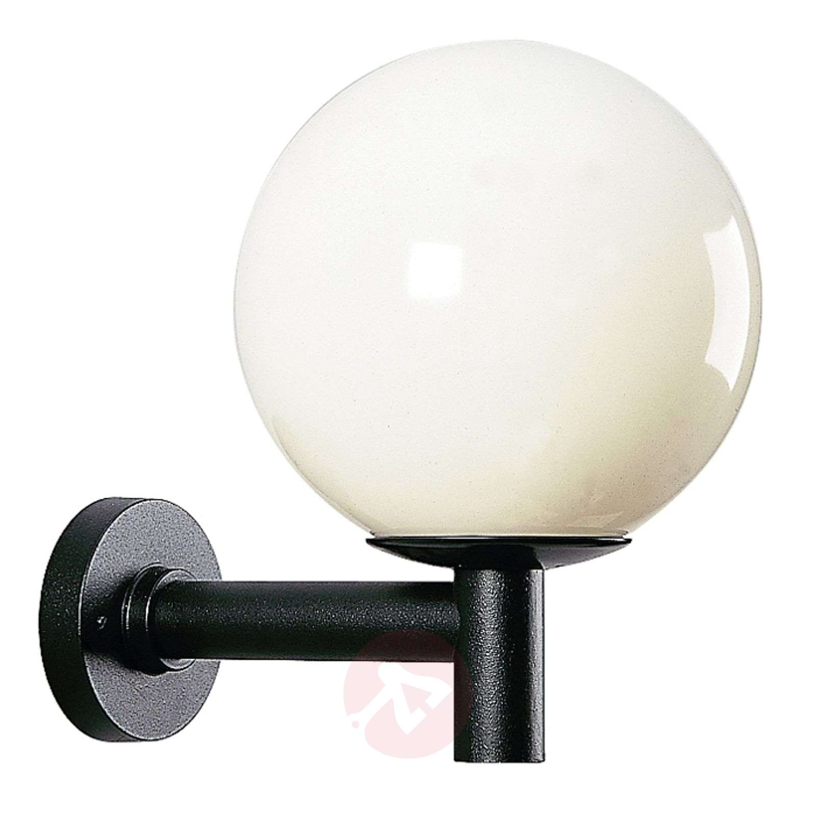 Pallonmuotoinen ulkoseinävalaisin, läpimitta 35 cm-4001106-01