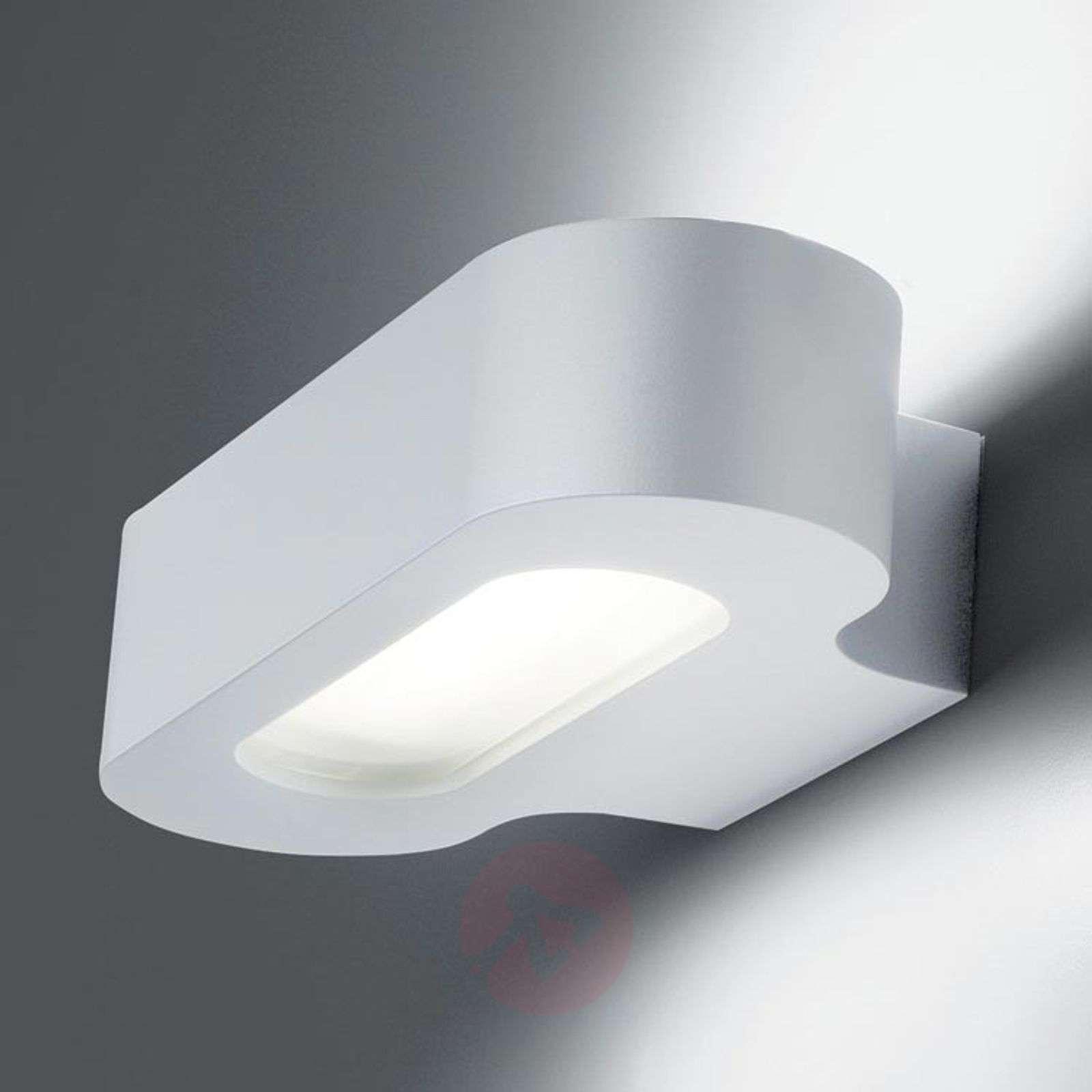 Pelkistetty design-LED-seinävalaisin Talo, valk.-1060061-01