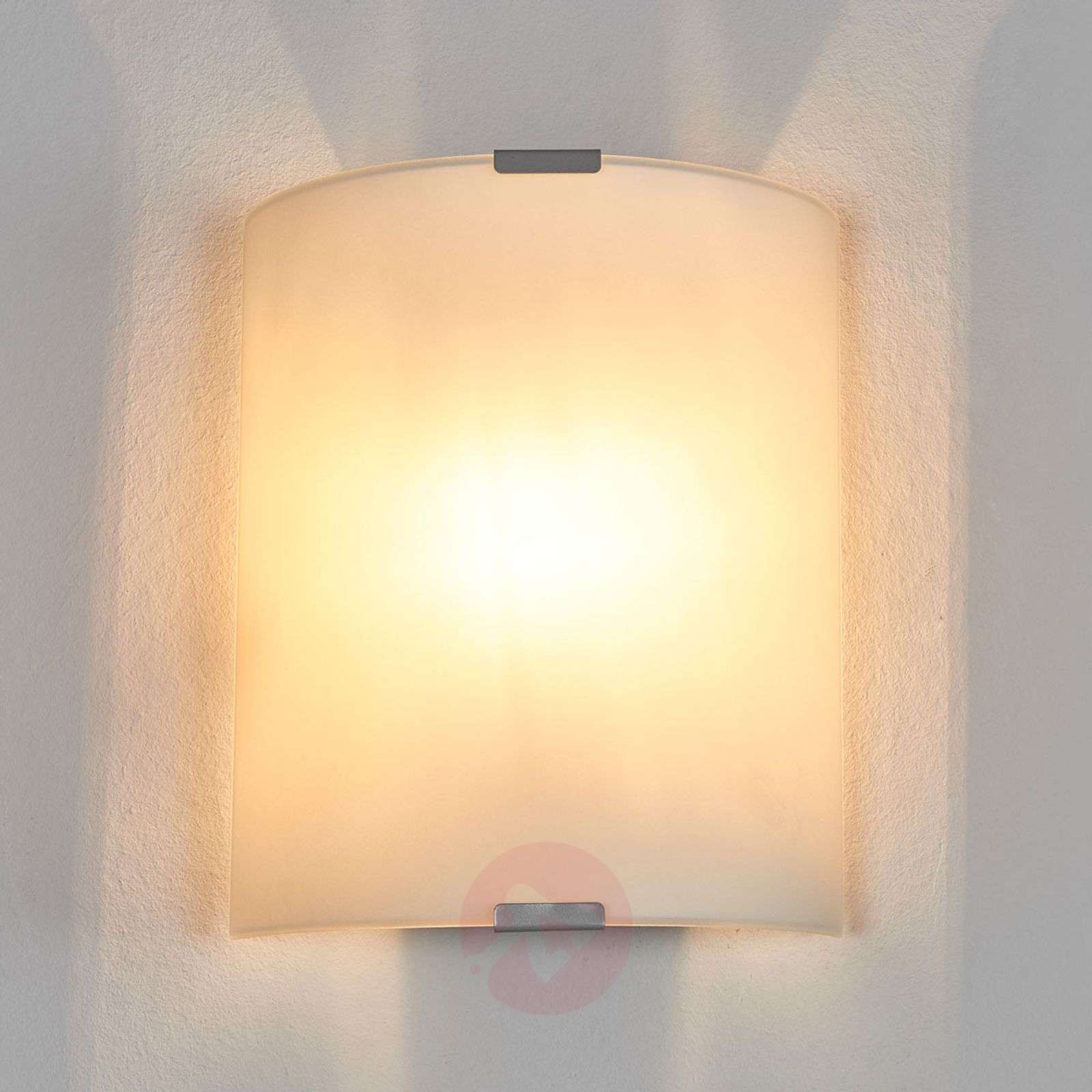 Pelkistetty Grey-seinävalaisin lasilla-3001361-01
