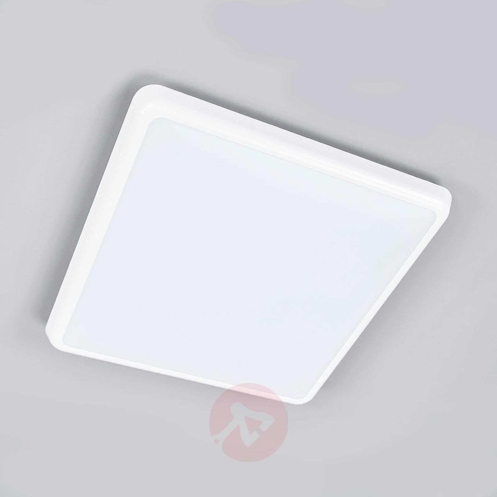 Pelkistetty kattovalaisin Augustin, LED, IP54-9967011-012