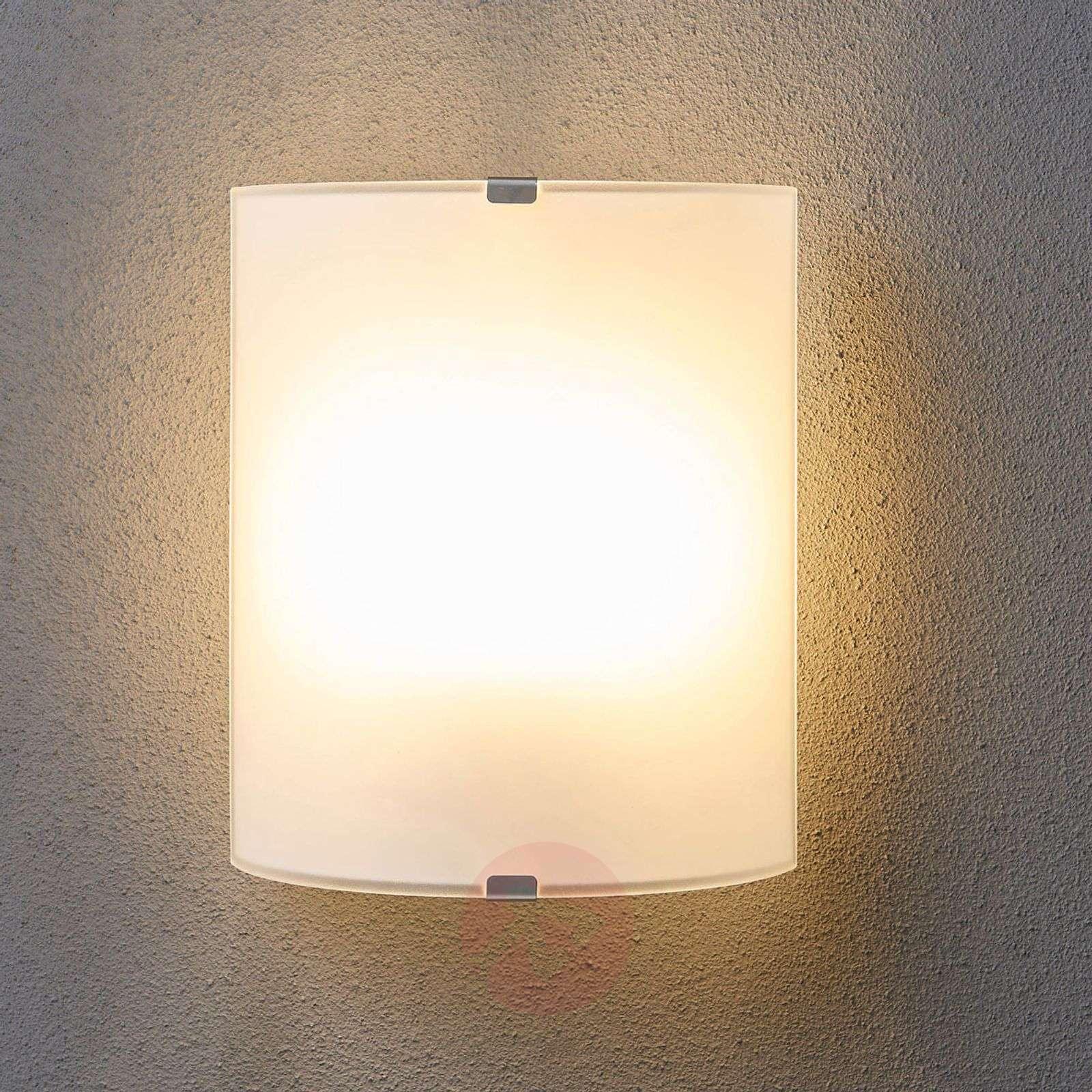 Pelkistetty, lasinen seinävalaisin Phil-9620800-03