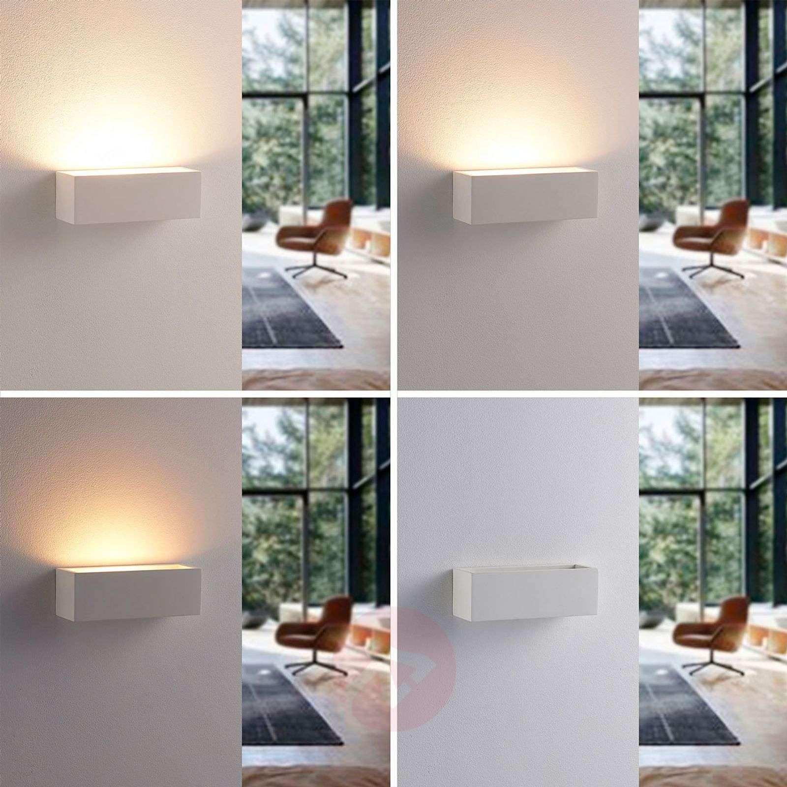 Pelkistetty LED-kipsiseinävalaisin Santino-9621333-02