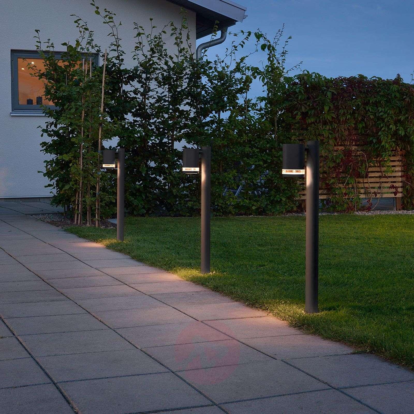 Pelkistetty LED-pylväsvalaisin Modena-5522561-01