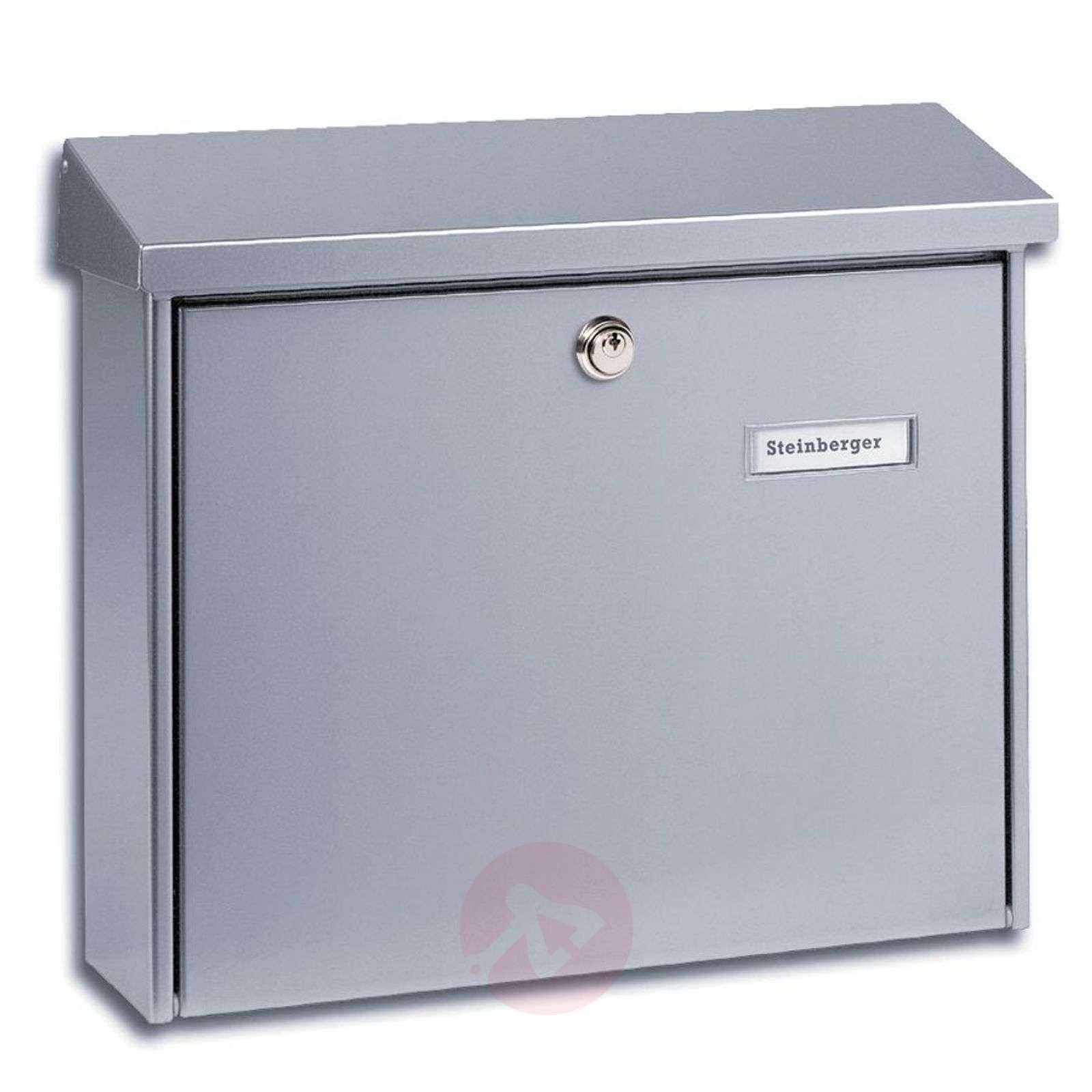 Pelkistetty teräksinen Amsterdam-postilaatikko-1532081X-01