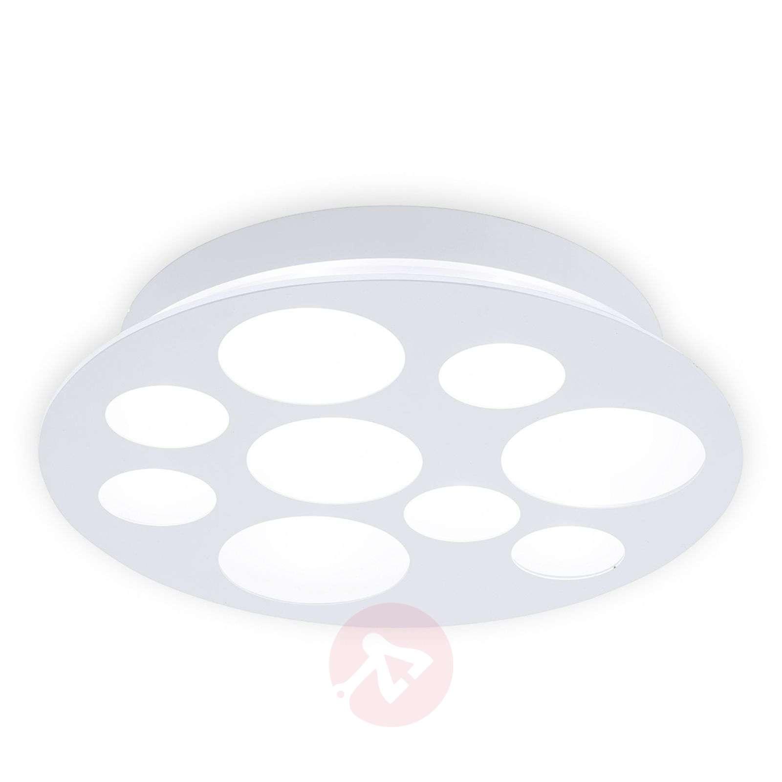 Pernato – pyöreä, valkoinen led-kattovalaisin-3031759-01