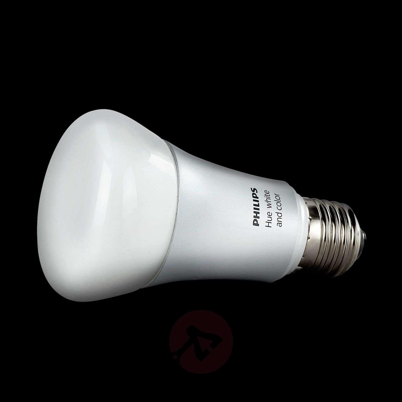 Philips Hue lamppu white+color ambiance E27 10W-7531677-01