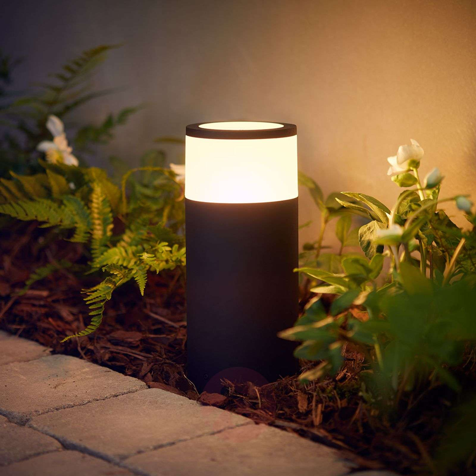Philips Hue-LED-pollarivalaisin Calla, perussetti-7534056-01