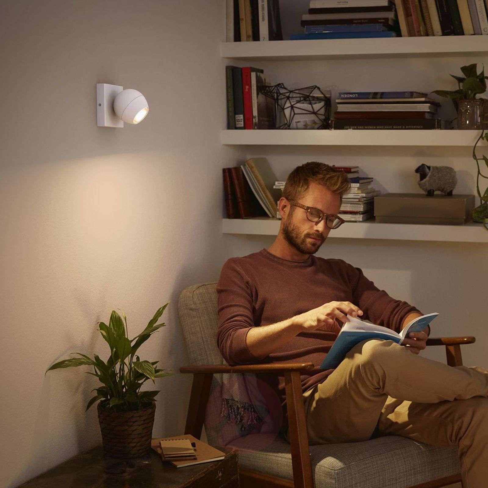 Philips Hue LED-spotti Buckram himmennin valkoinen-7532046-01