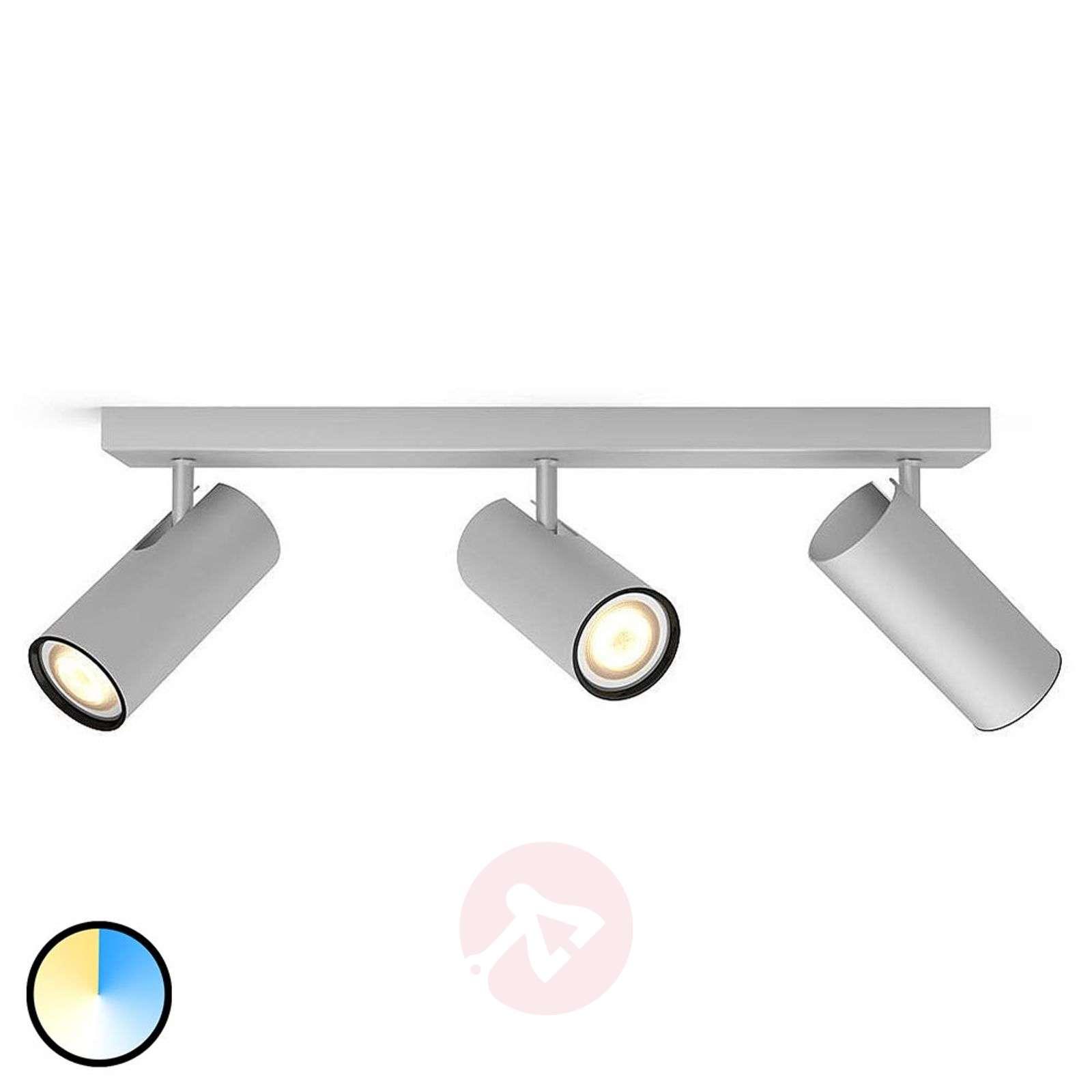 Philips Hue LED-spotti Buratto 3-osainen alumiini-7532044-01
